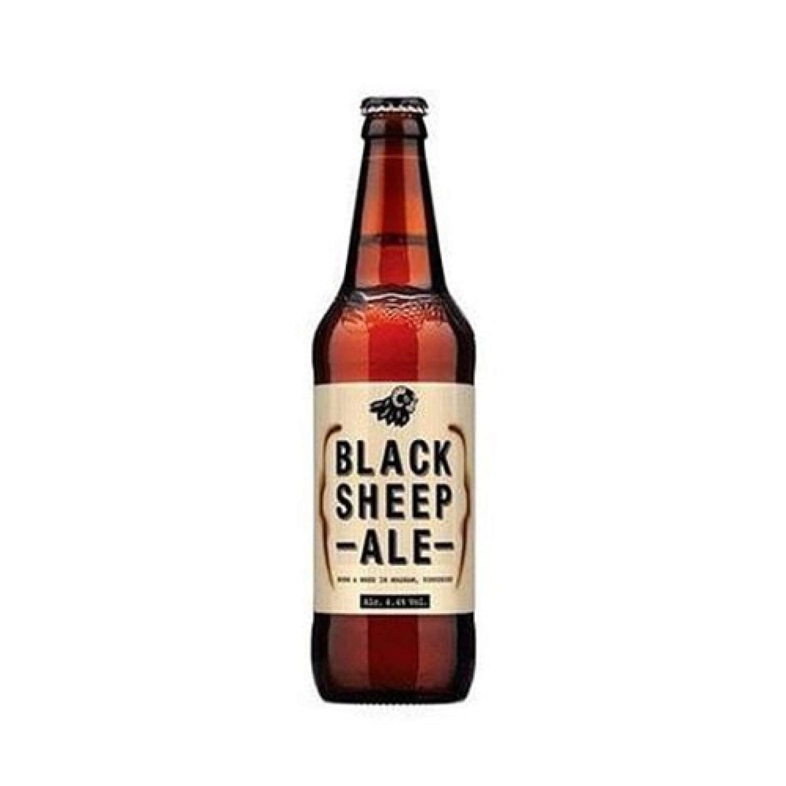 Bebida Alcohol Cerveza The Black Sheep Ale Cuatro Jinetes