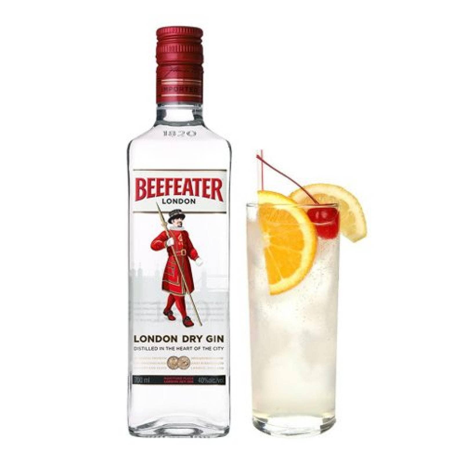 Bebida Alcohol Ginebra Beefeater 750 ml Cuatro Jinetes