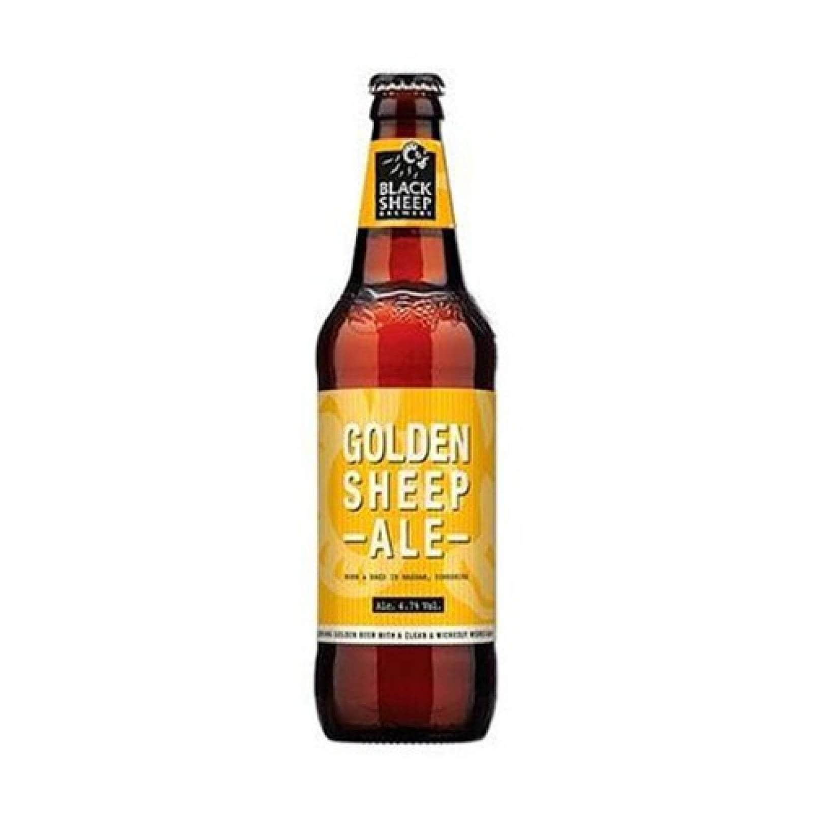 Bebida Alcohol Cerveza Golden Sheep Ale Cuatro Jinetes