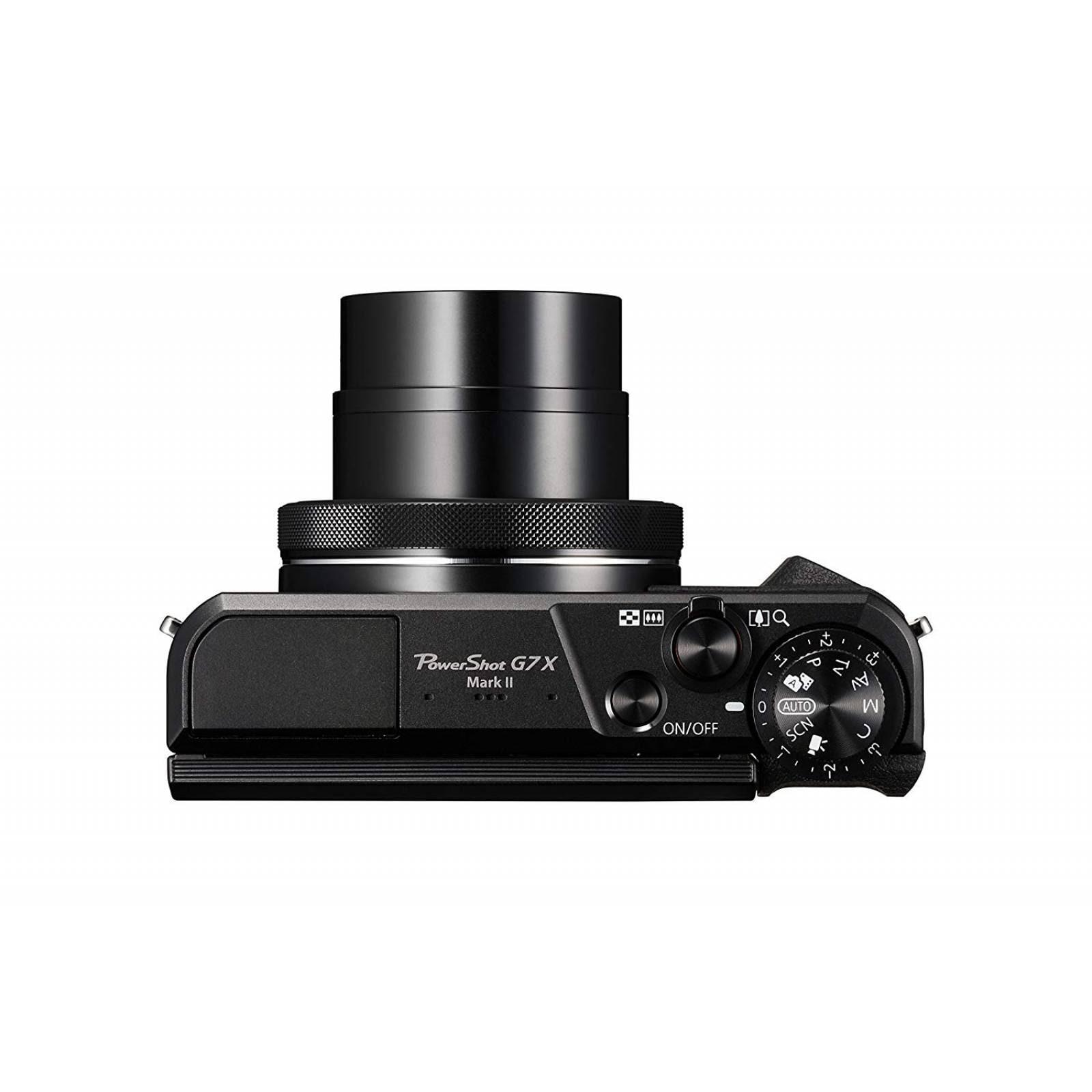 Canon PowerShot G7X Mark II (Negro)