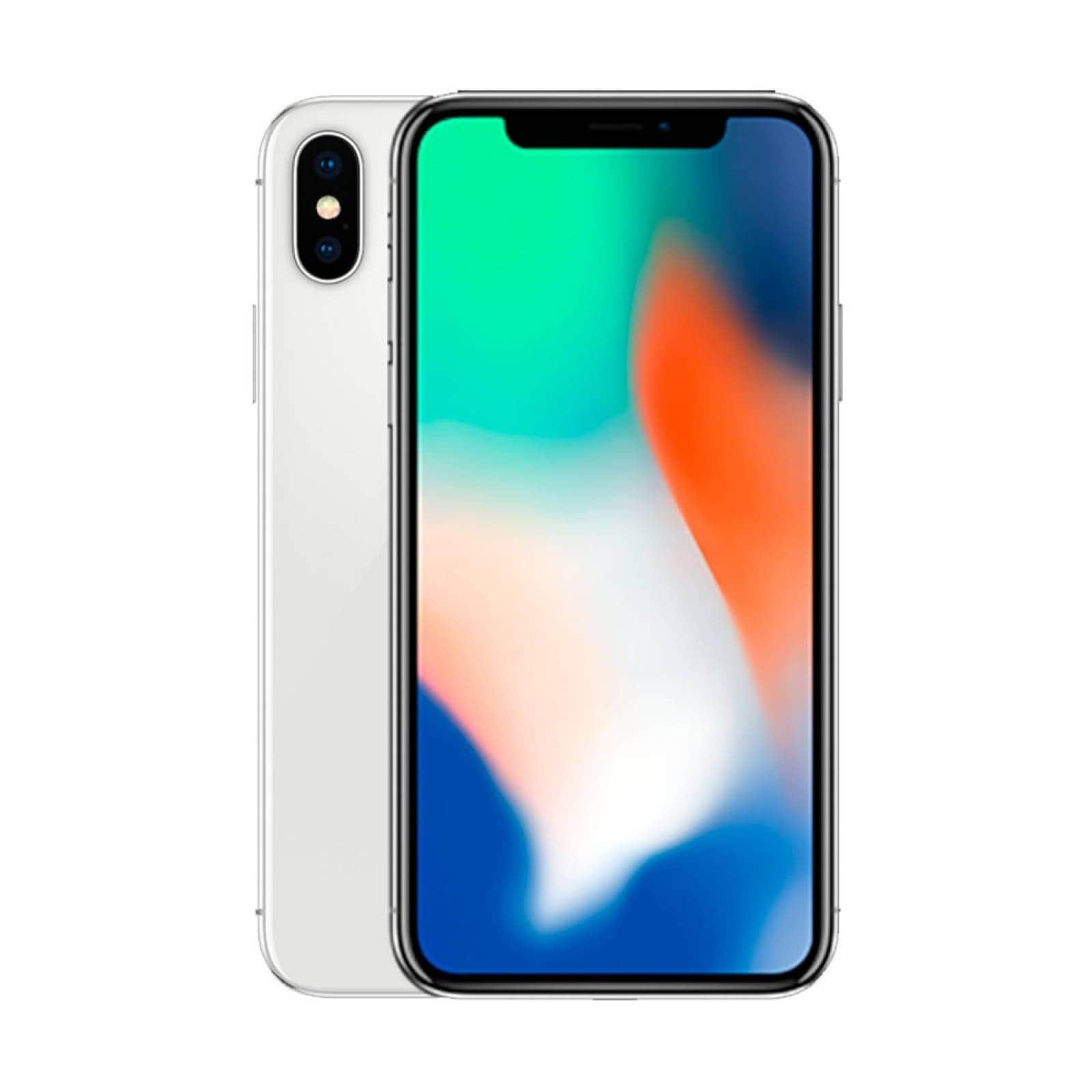Celular Iphone X 64 GB Reacondicionado Por Apple 12 Mpx Silver