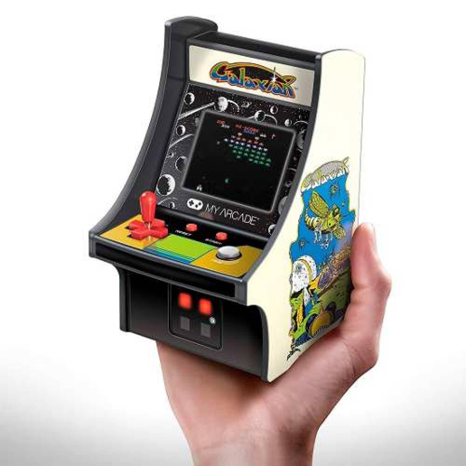 Maquinita 6 Pulg Micro Player My Arcade Retro Galaxian