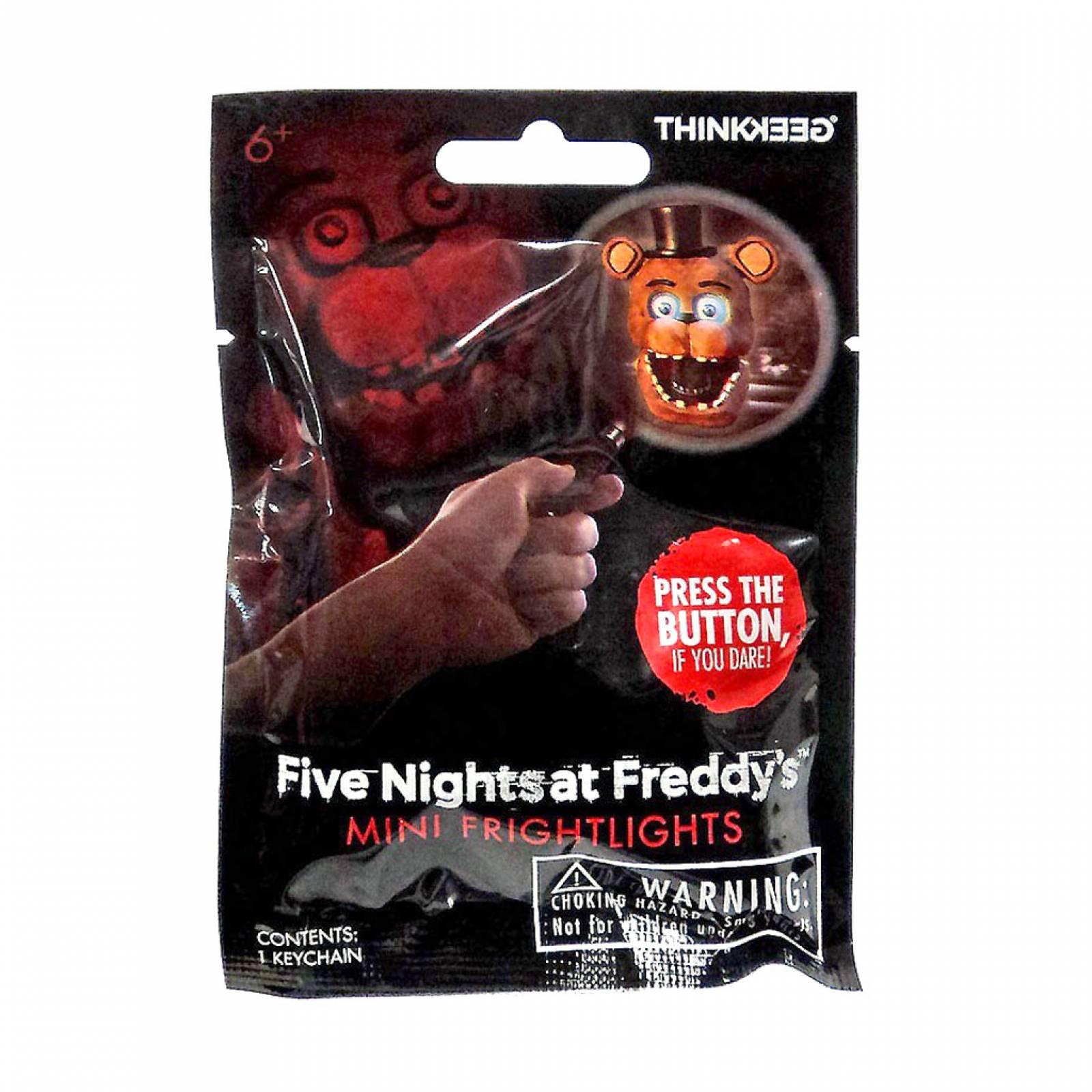 Mini Lámpara Flash Llavero Five Nights at Freddy's ThinkGeek