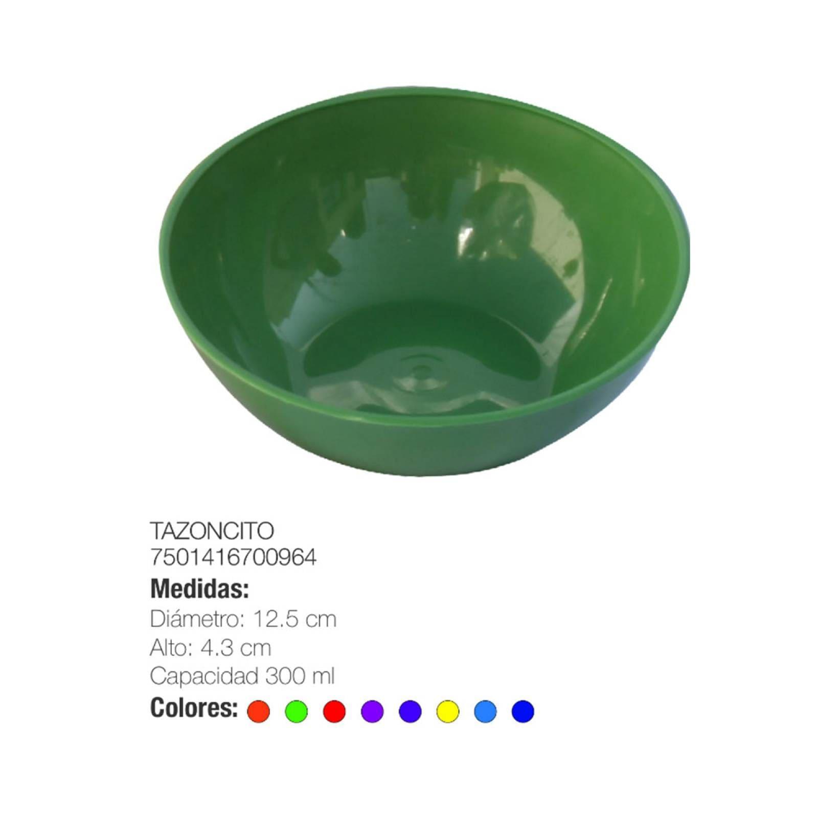 Pack 4 Tazón Sopero Plástico Torosqui Assorted