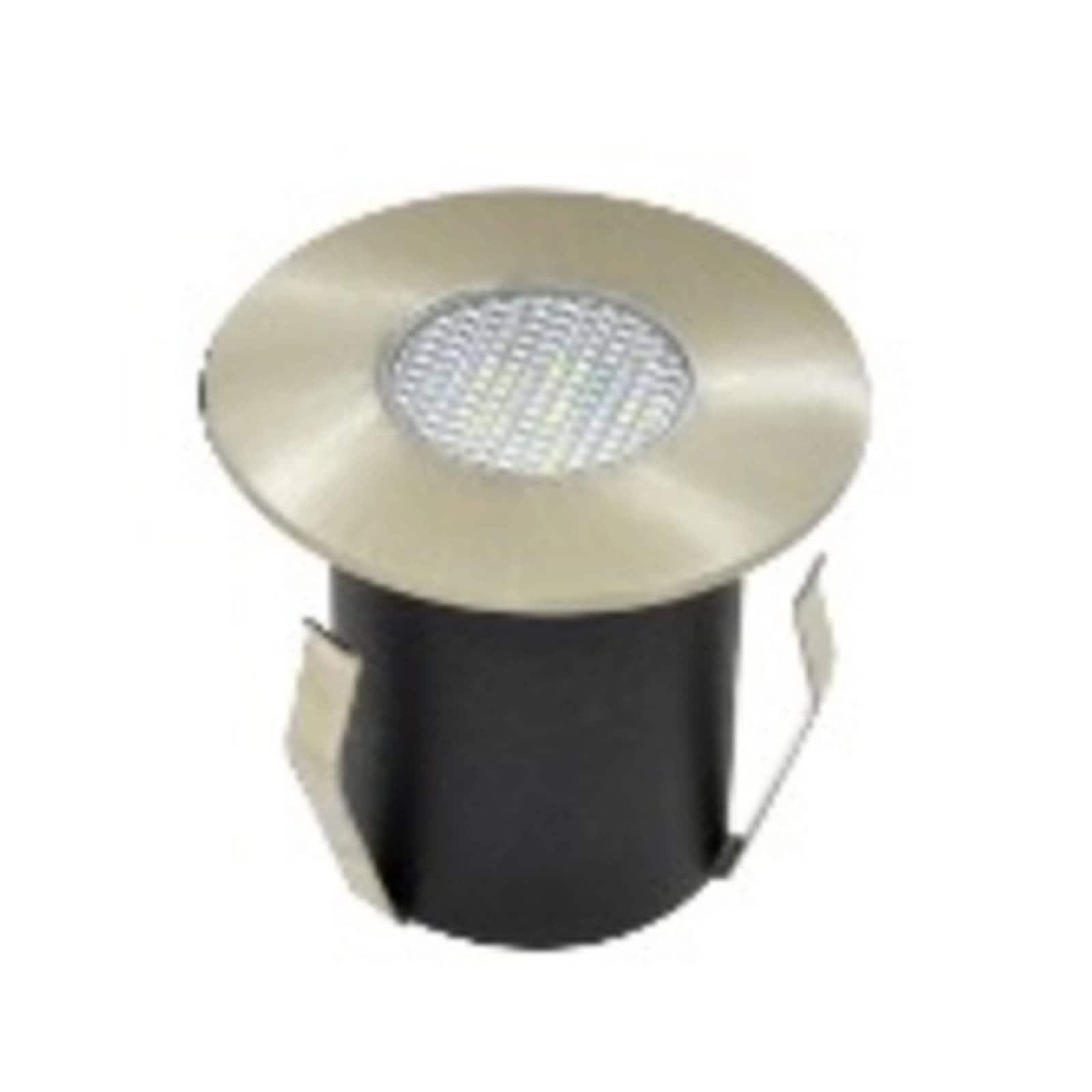 Lámpara Luminario Led Empotrado Piso Ad-5711 1W Azul Adir