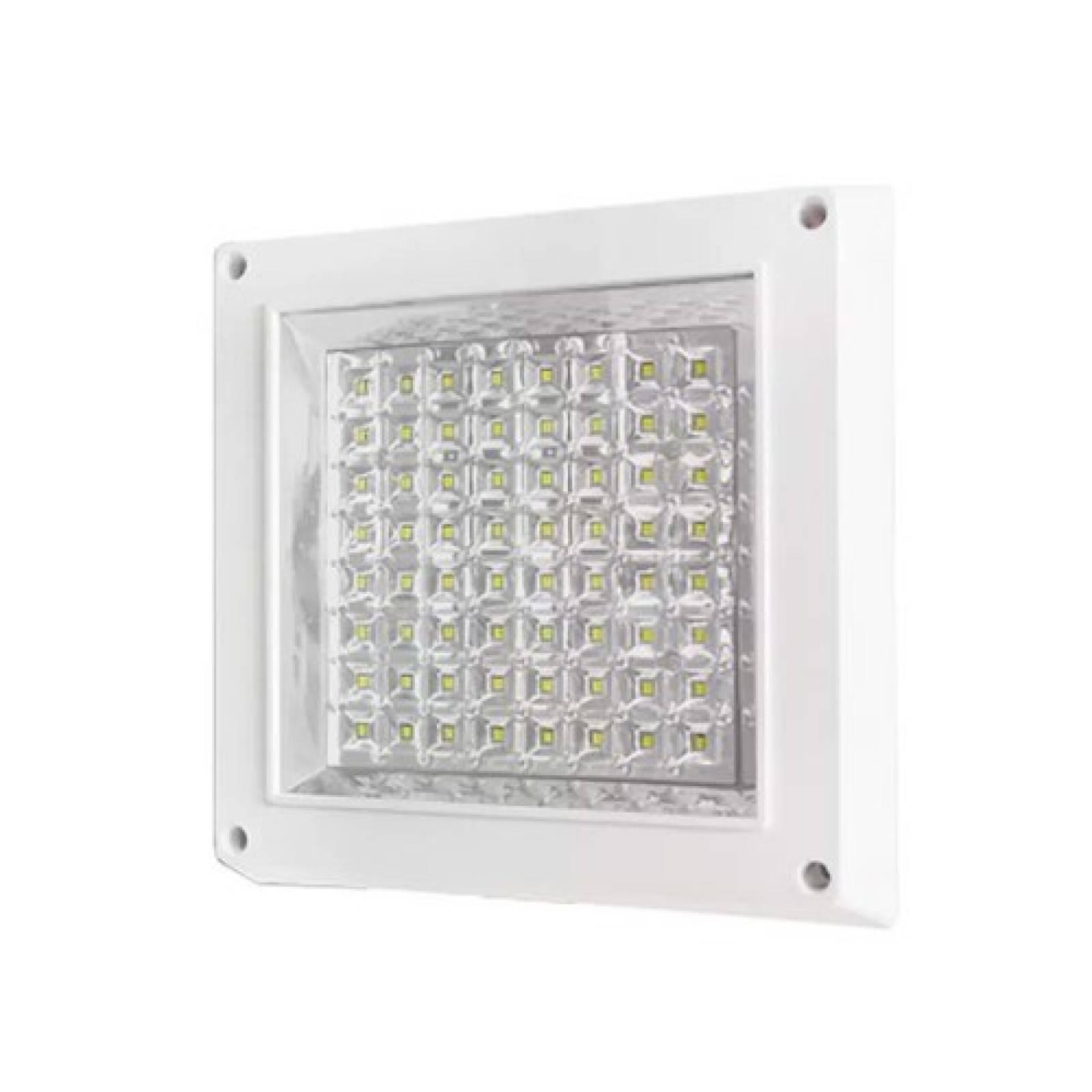 Lámpara Led Sobreponer Interior Cuadrada Ad-5527 9W Adir