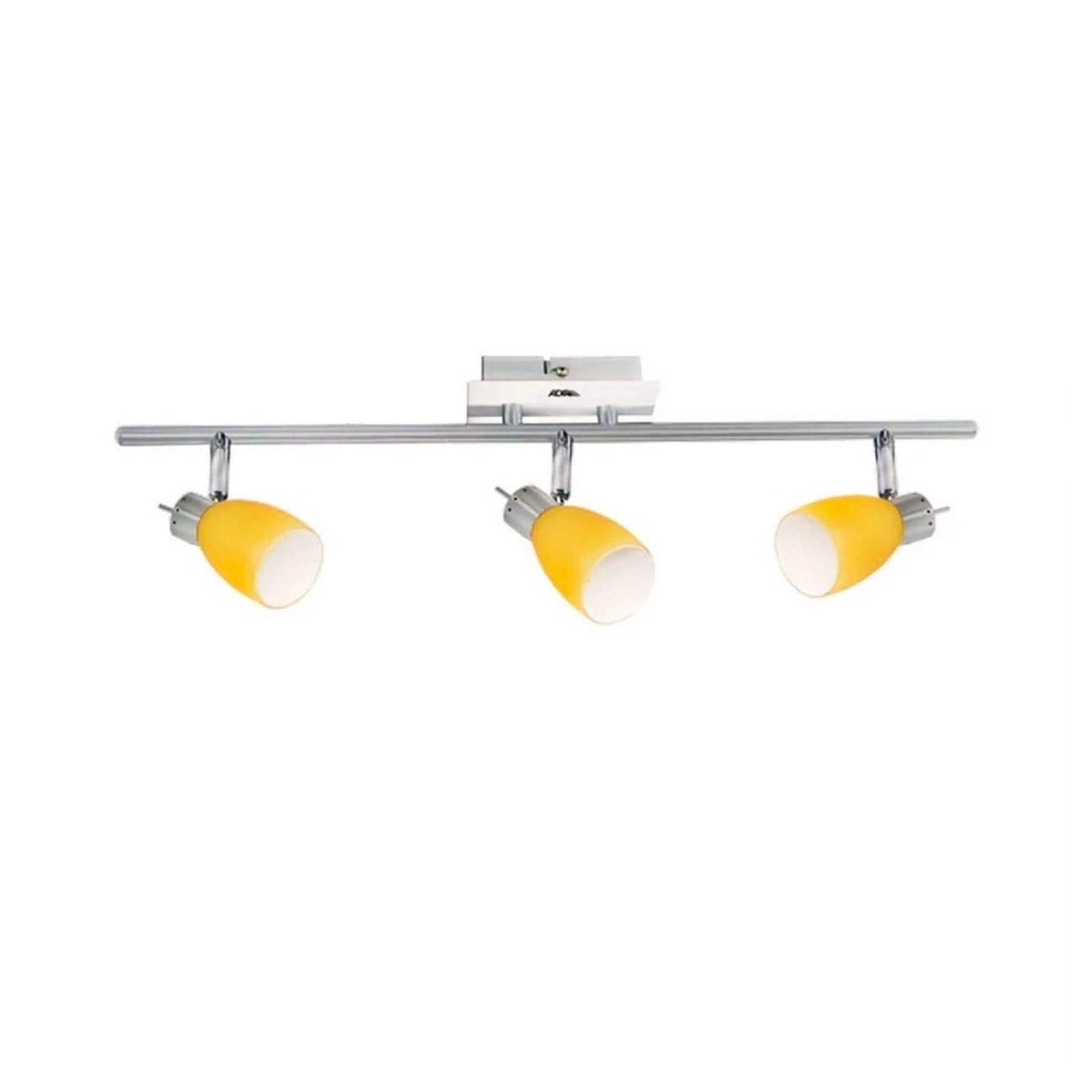 Luminario Riel Decorativo Abercorn 3 Focos Ad-5504 G-9 Adir