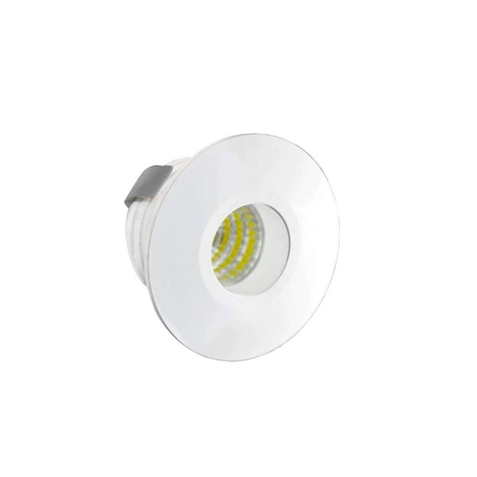 Empotrado Led Mini Circular Blanco Ad-5482 3W Adir