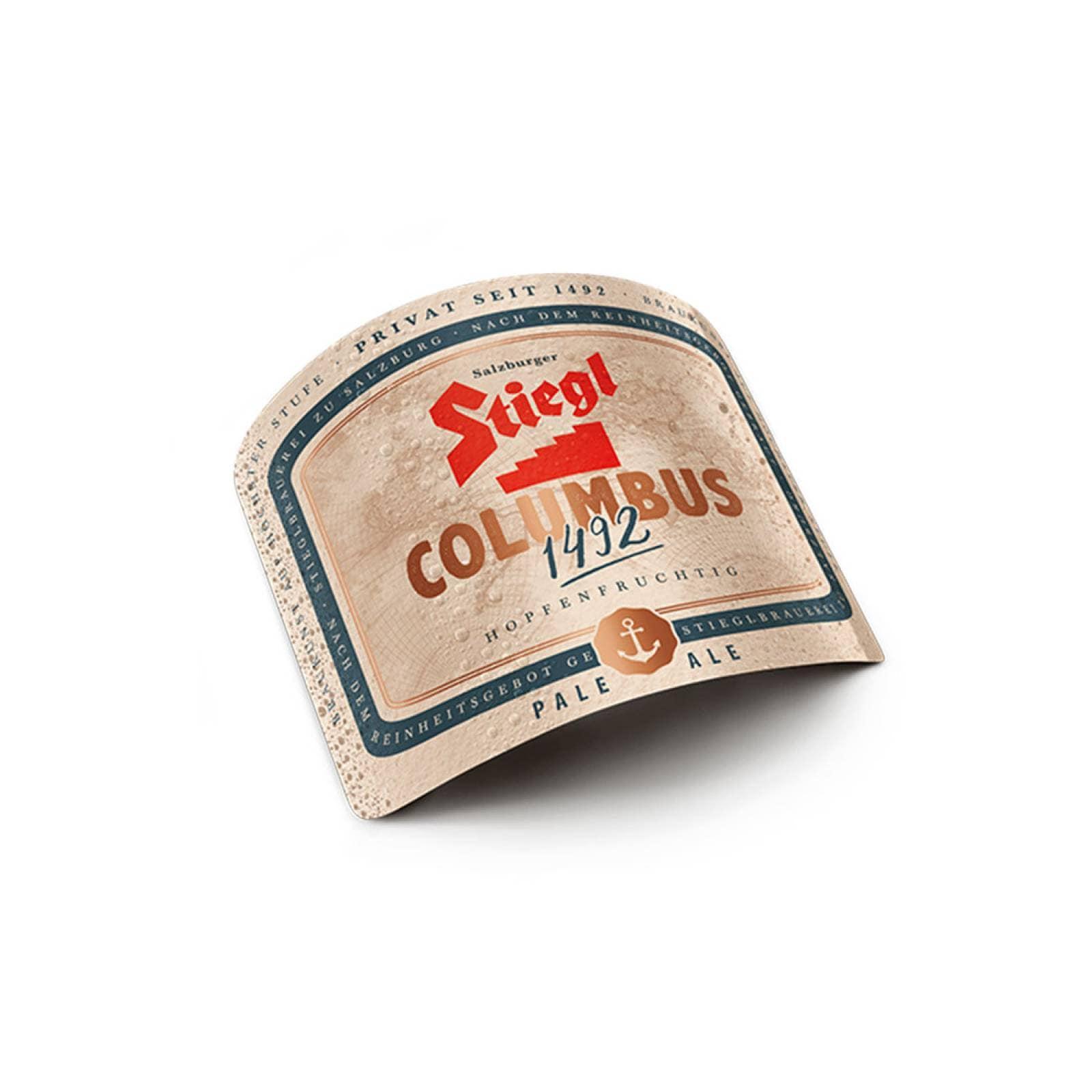 Cerveza Importada 12 Pzs 330 ml c/u Stiegl Columbus 1492