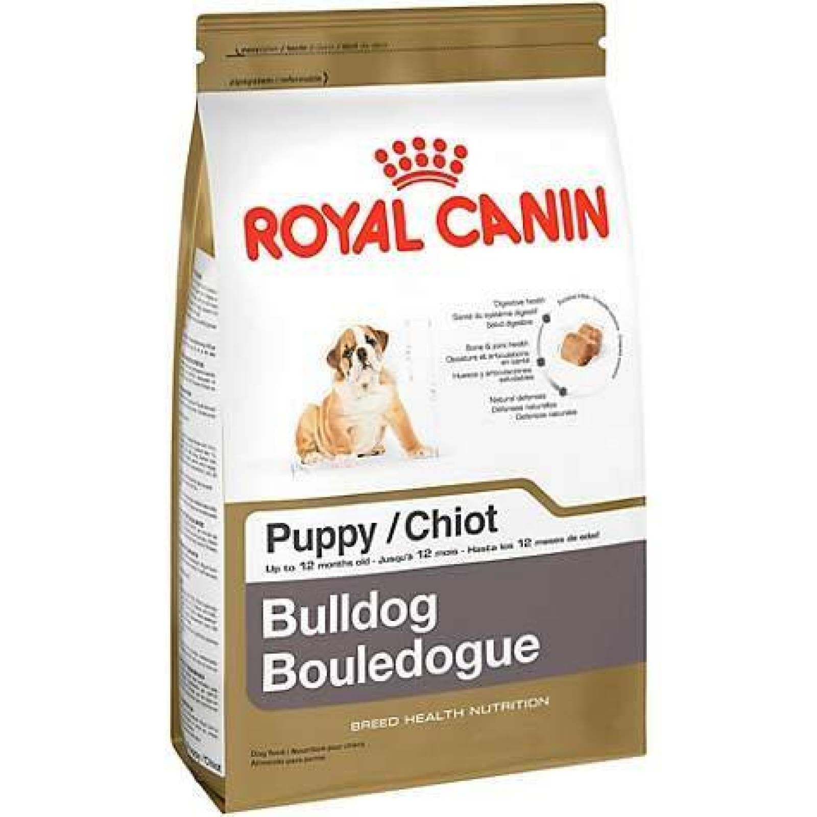 Croqueta Alimento Perro Cachorro Bulldog 13.6kg Royal Canin