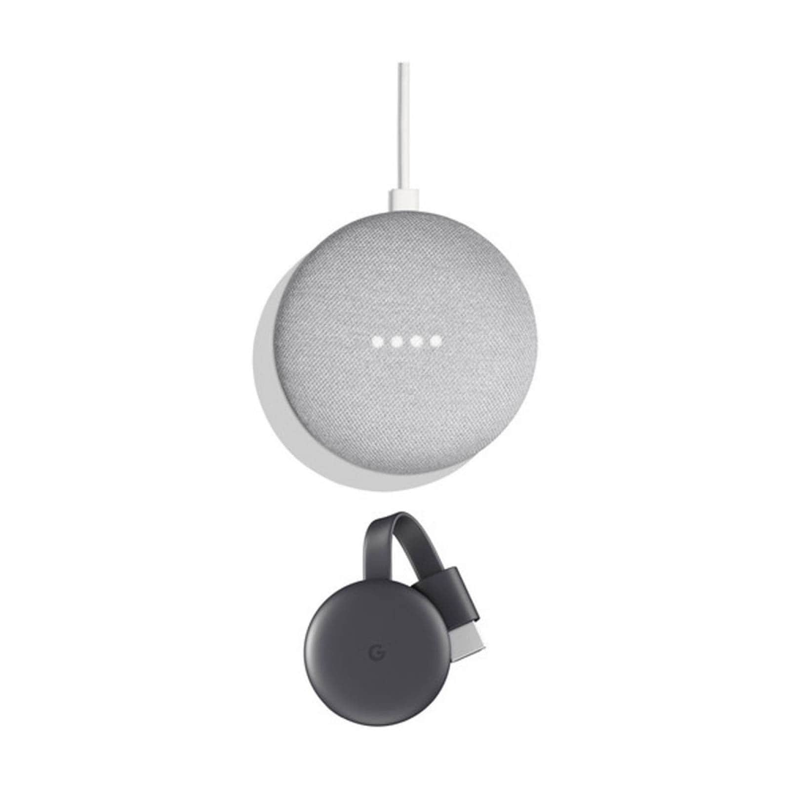 Set Google Chromecast 3era Generación & Google Home Mini