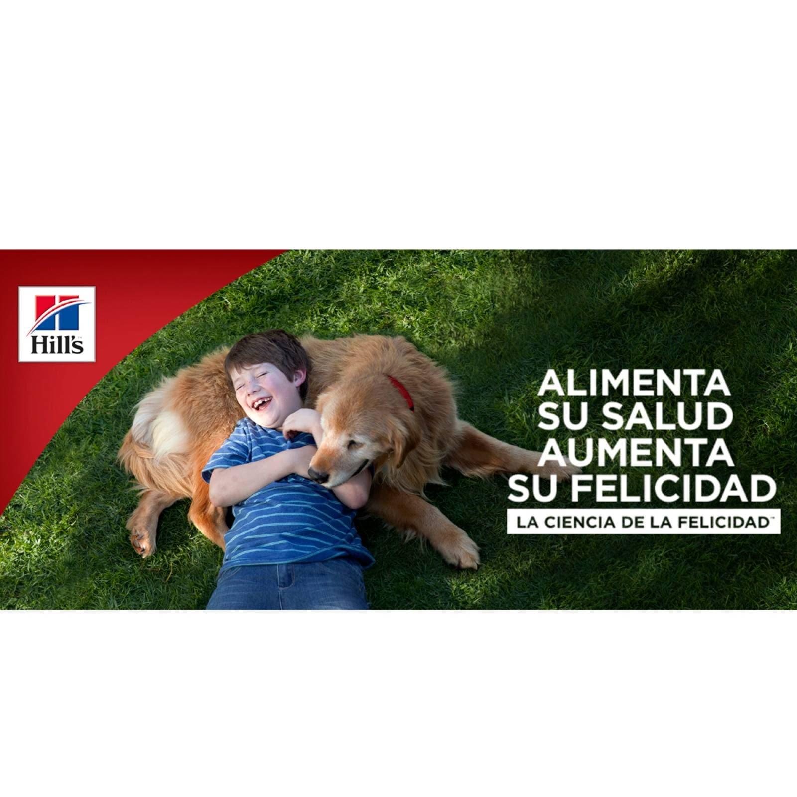 Alimento Perro Cachorro Trozos Pollo Lata 368 g Hills