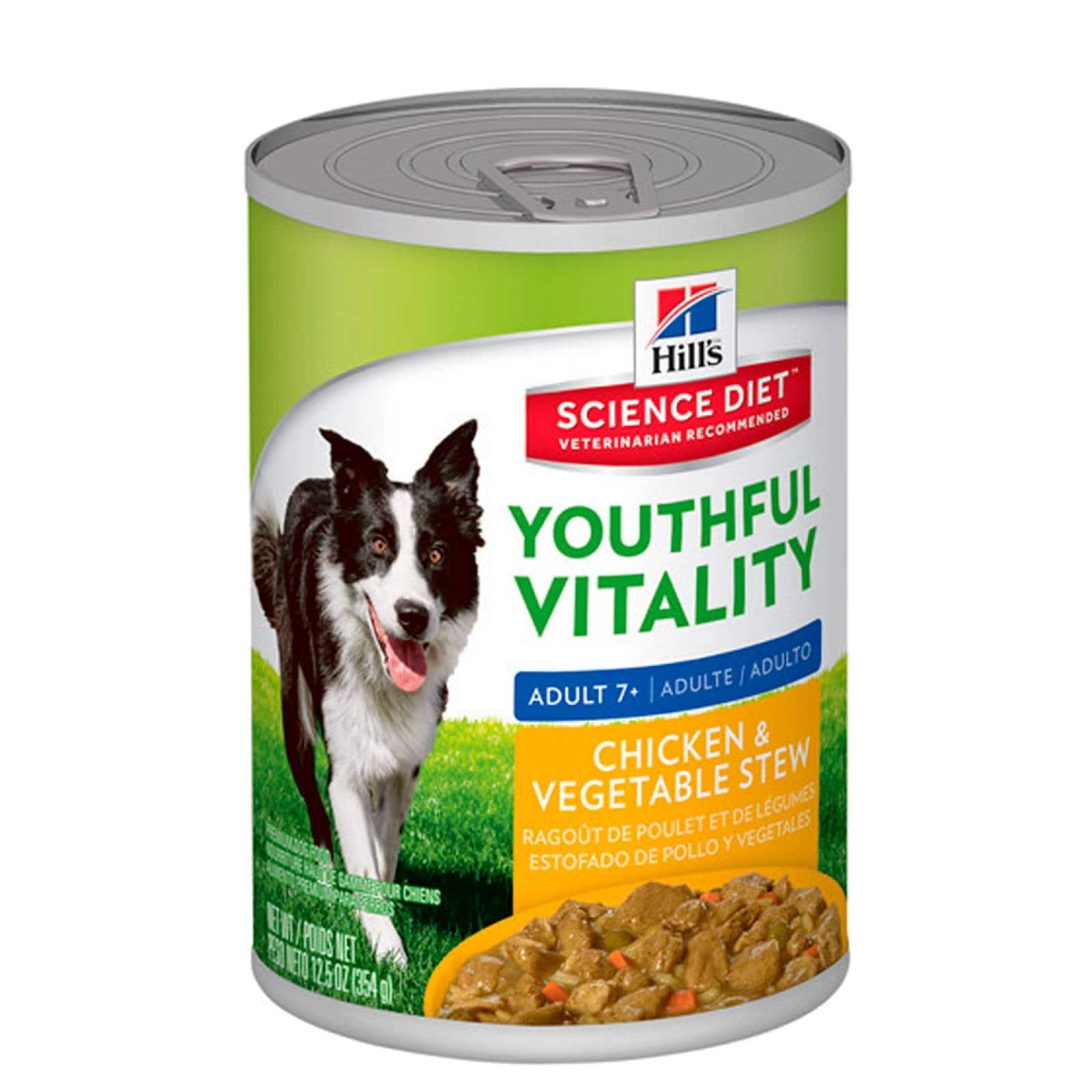 Alimento Perro Trozos Pollo Raza Mediana Adulto 354gr Hills