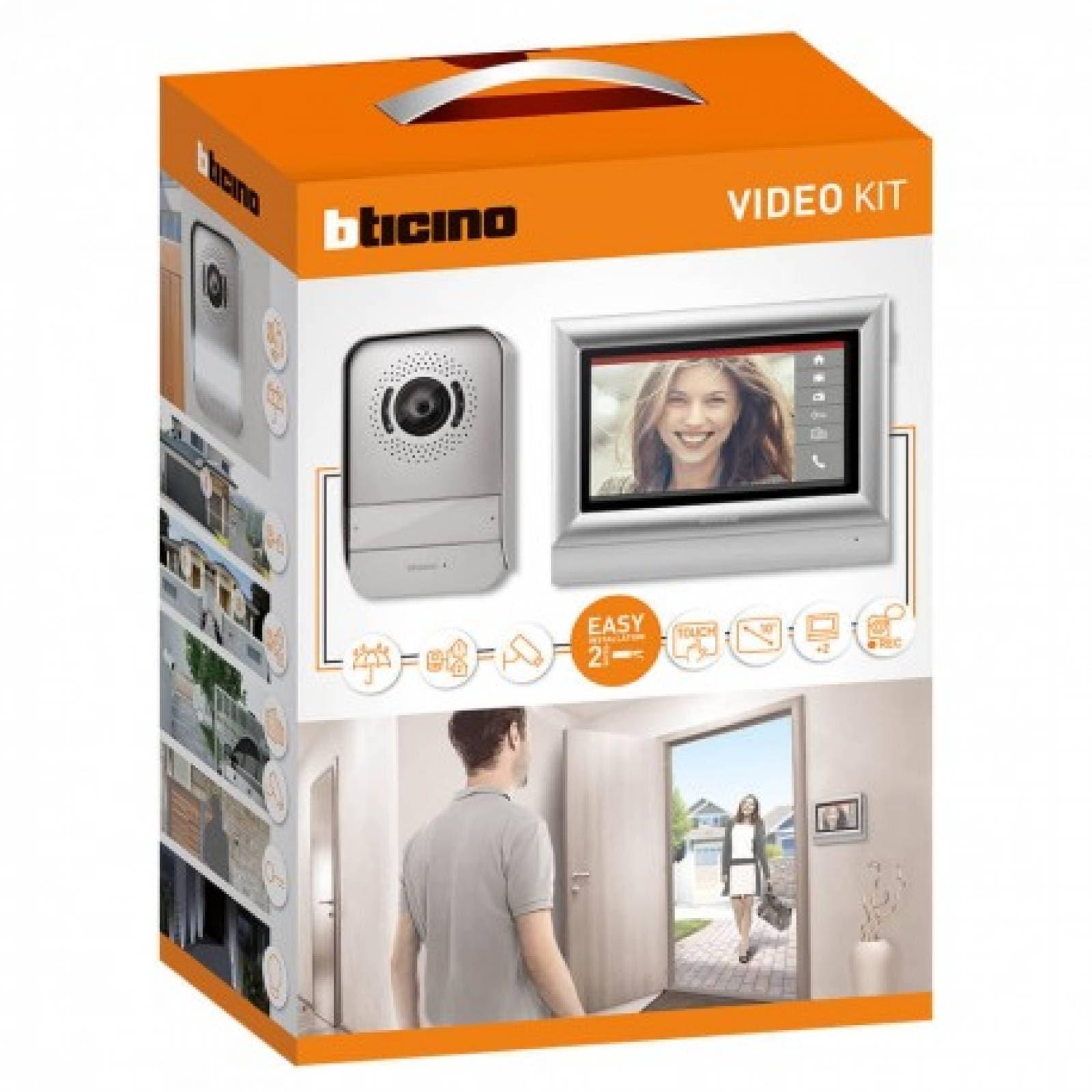 Kit Video Porter Pantalla Táctil 317211 Bticino
