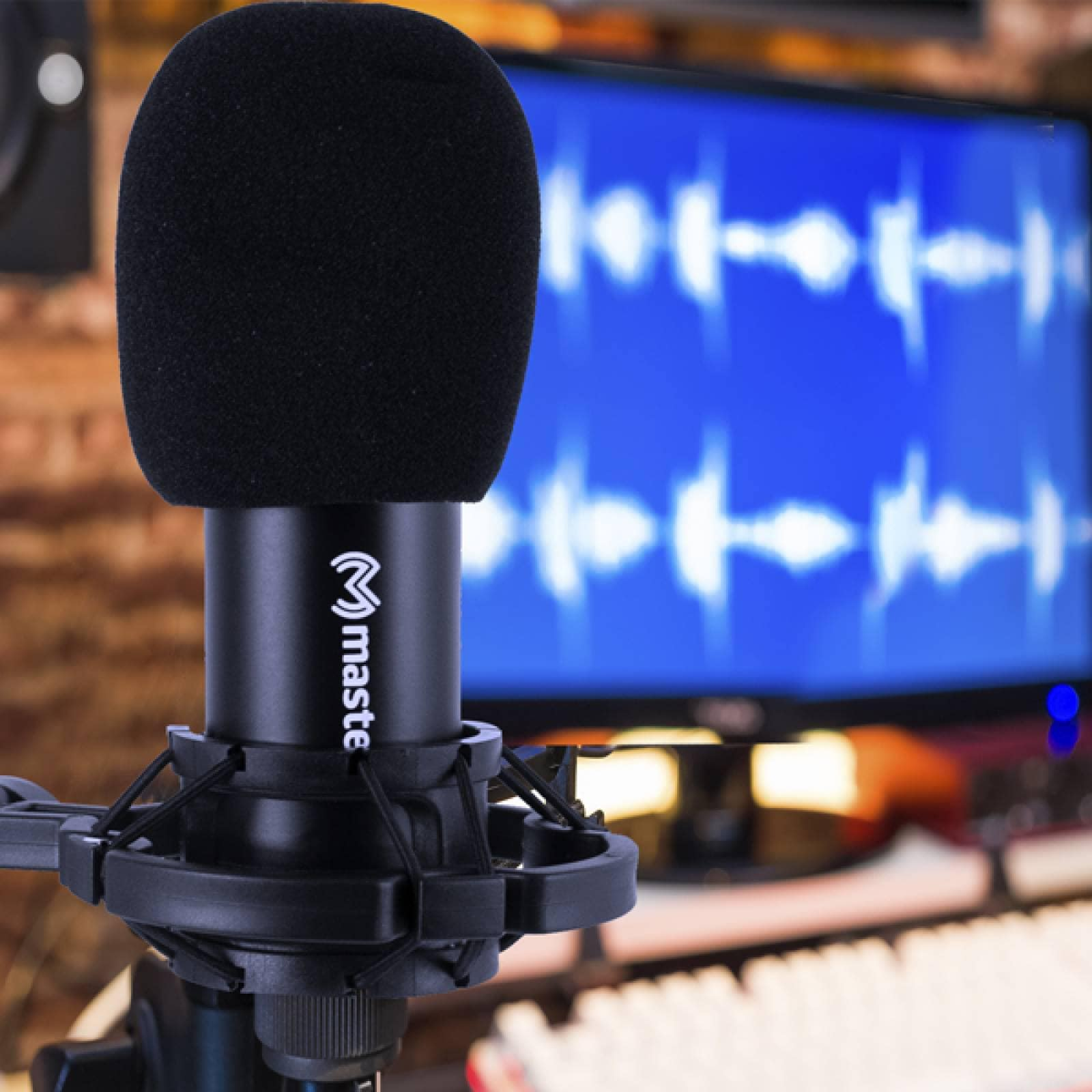 Microfono alambrico Master De estudio MS-CONDENSER
