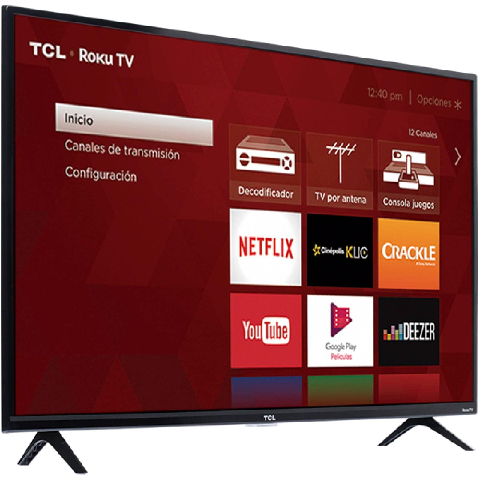 Smart TV 55 TCL 4K UHD Roku TV HDMI USB WIFI 55S425