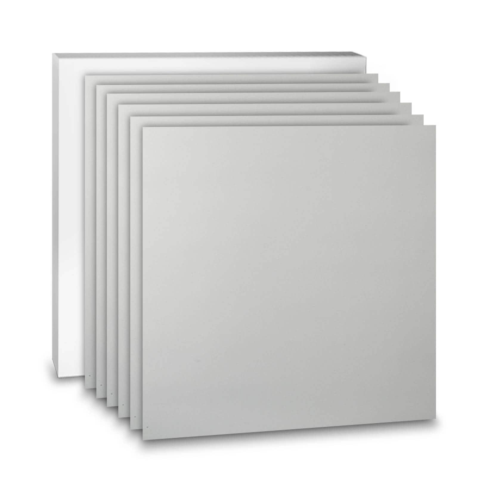 Aislante Cerámico Protector Térmico para Techo de 60 x 60 cm Blanco, Paquete 6 Piezas, Mod: 2PTTP6Bl