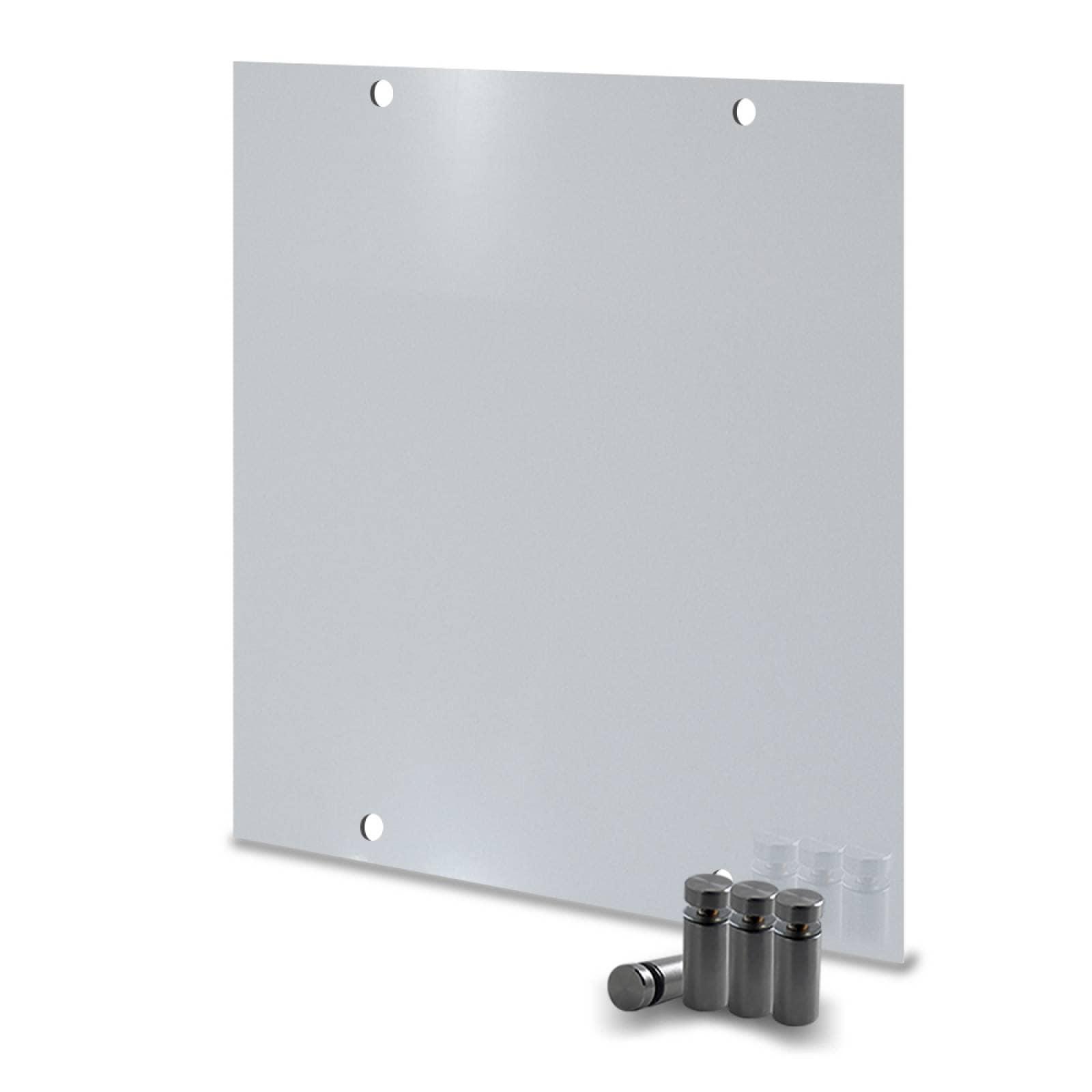 Calefactor de Panel infrarrojo en Aluminio para Techo, Ontario Wave White Cloud de 380W 59x59cm, Mod: 381CaSol-TB