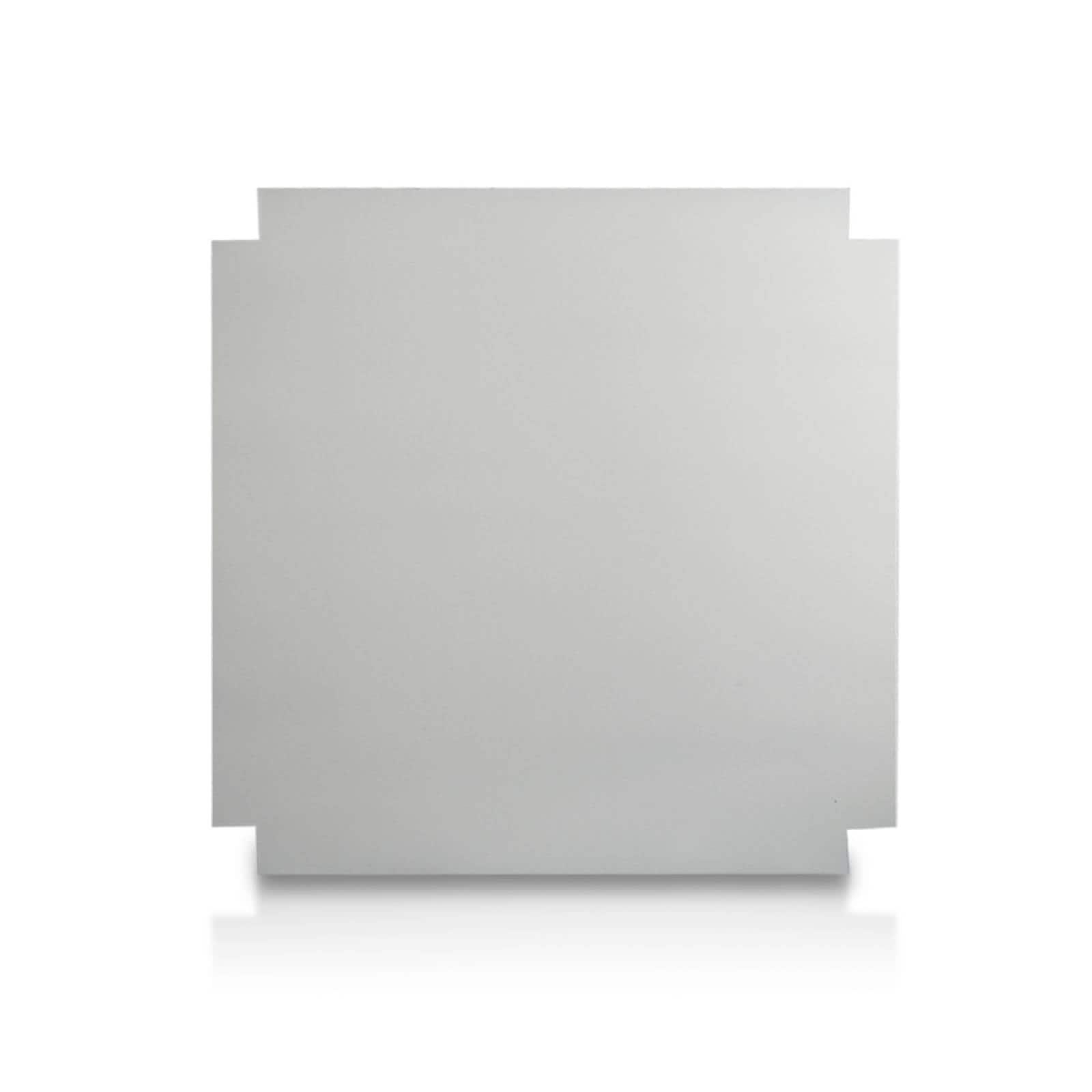 Aislante Cerámico Protector Térmico para Pared de 52 x 45 cm Blanco, Mod: 4PTPBl