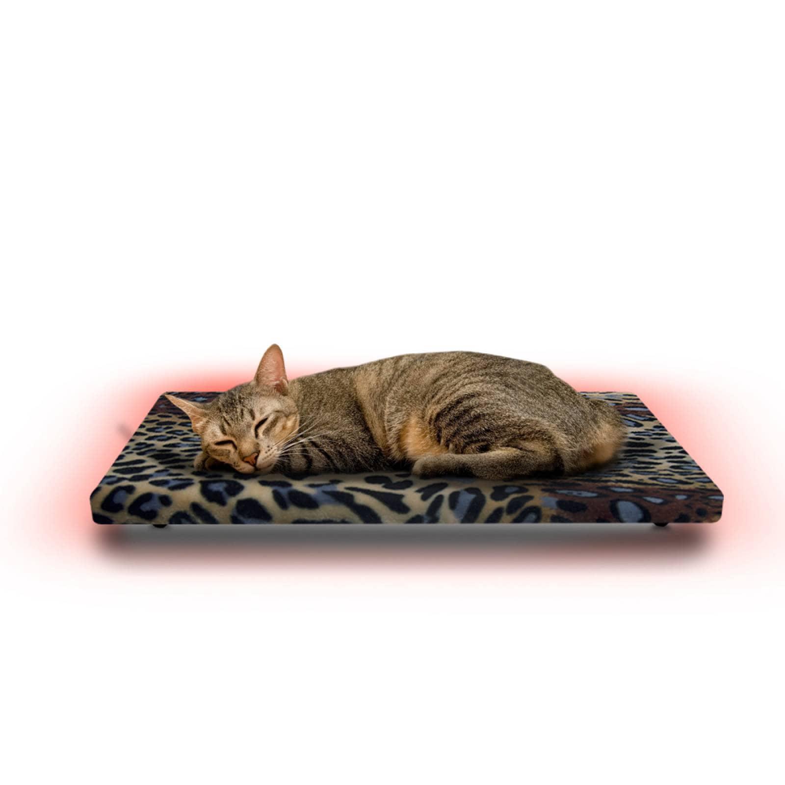 Cama Calefaccionada para Gatos y Mascotas, Pet Wave Pet Lover Jaguar de 32/48ºC 38/76W 50x40cm, Mod: 2CSPLJa