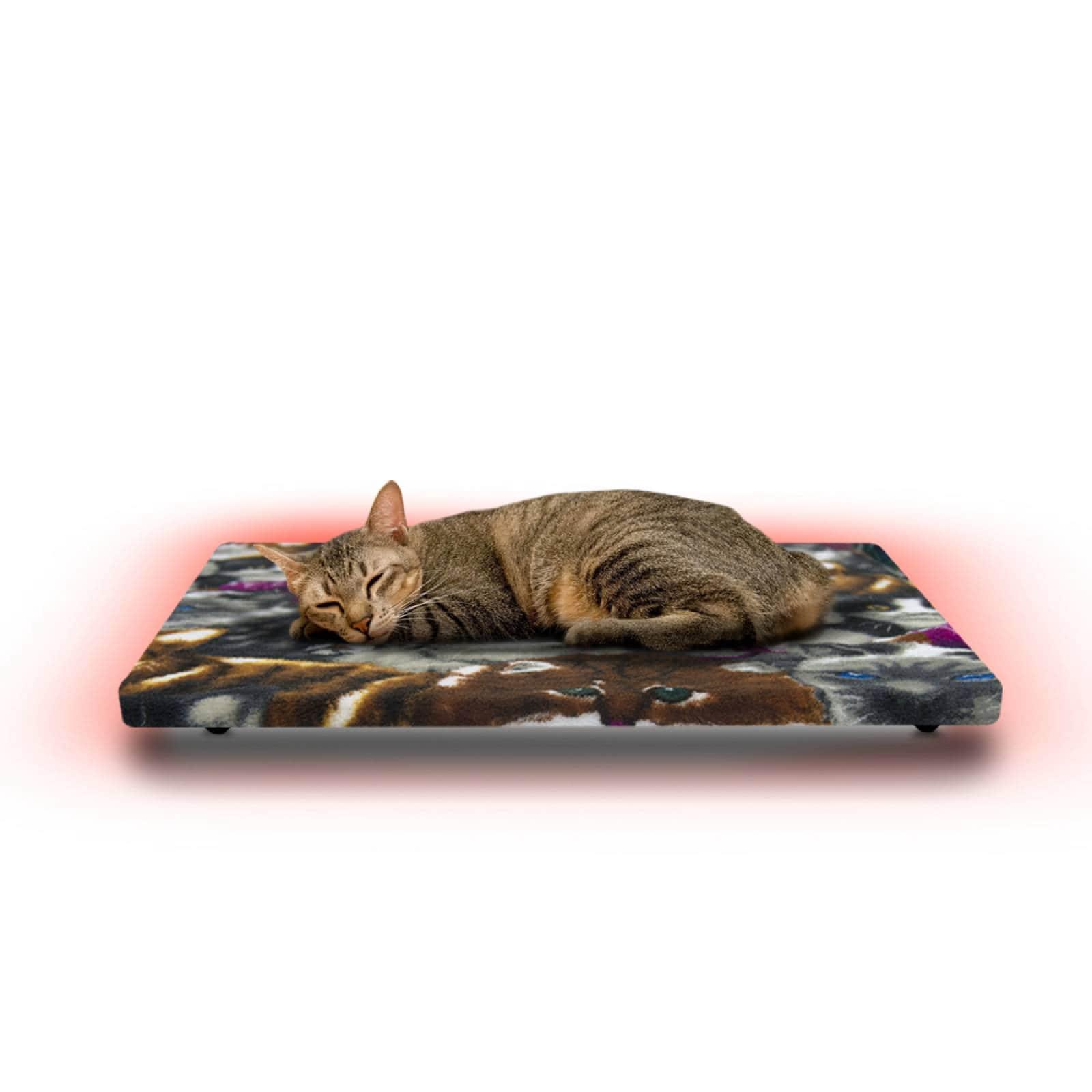 Cama Calefaccionada para Gatos y Mascotas, Pet Wave Pet Lover Kitten de 32/48ºC 38/76W 50x40cm, Mod: 2CSPLKi