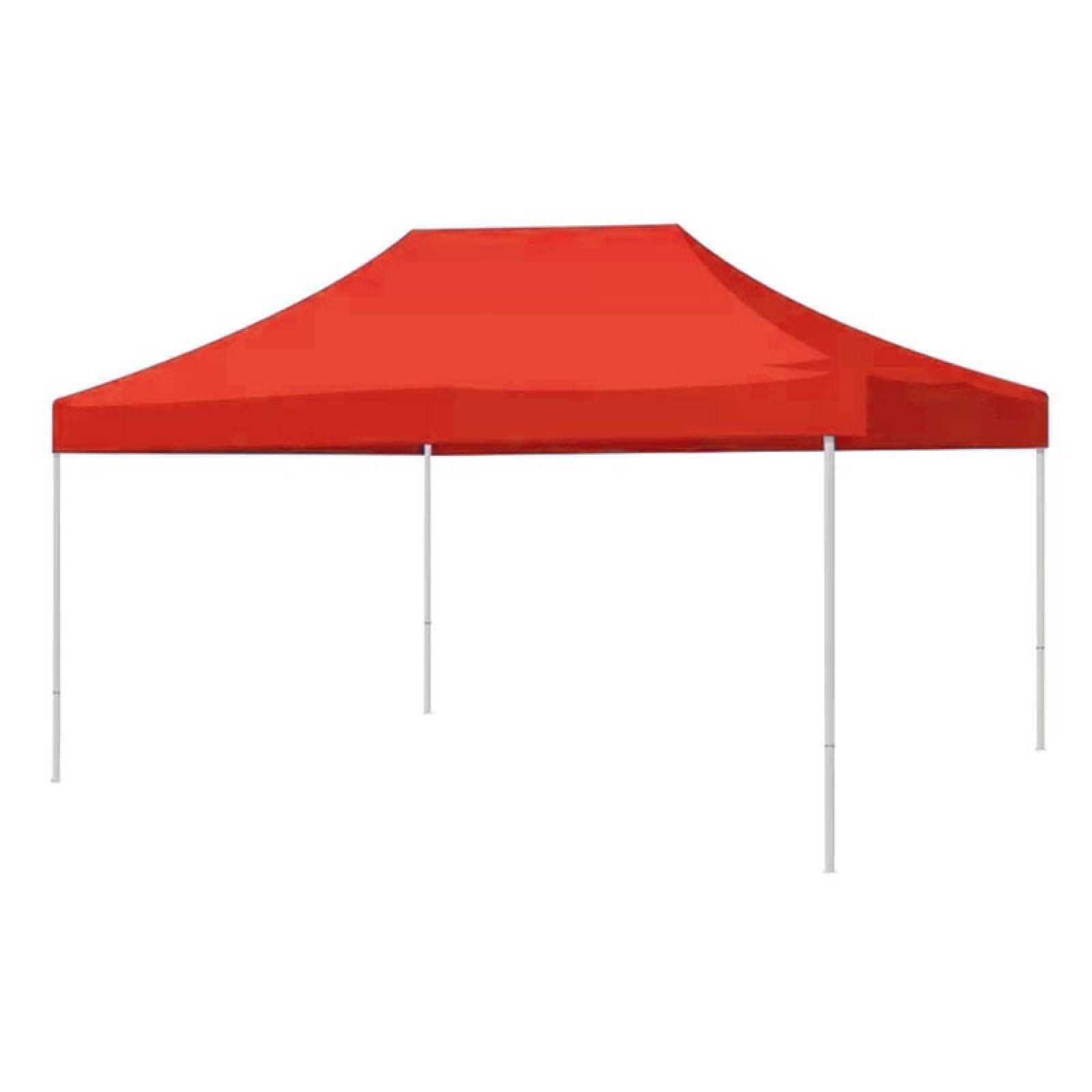 Carpa Toldo 2x3 Roja Plegable Impermeable Negocio Jardin Eventos