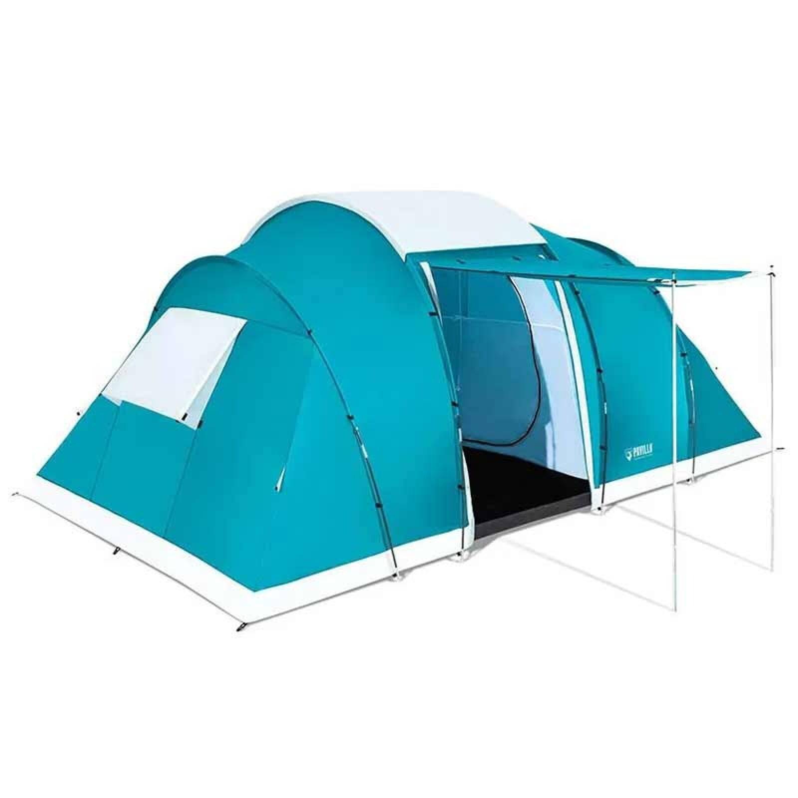 Casa de Campaña 6 Personas Camping Bolsa de Transporte 4.90mx2.80mx2.00m