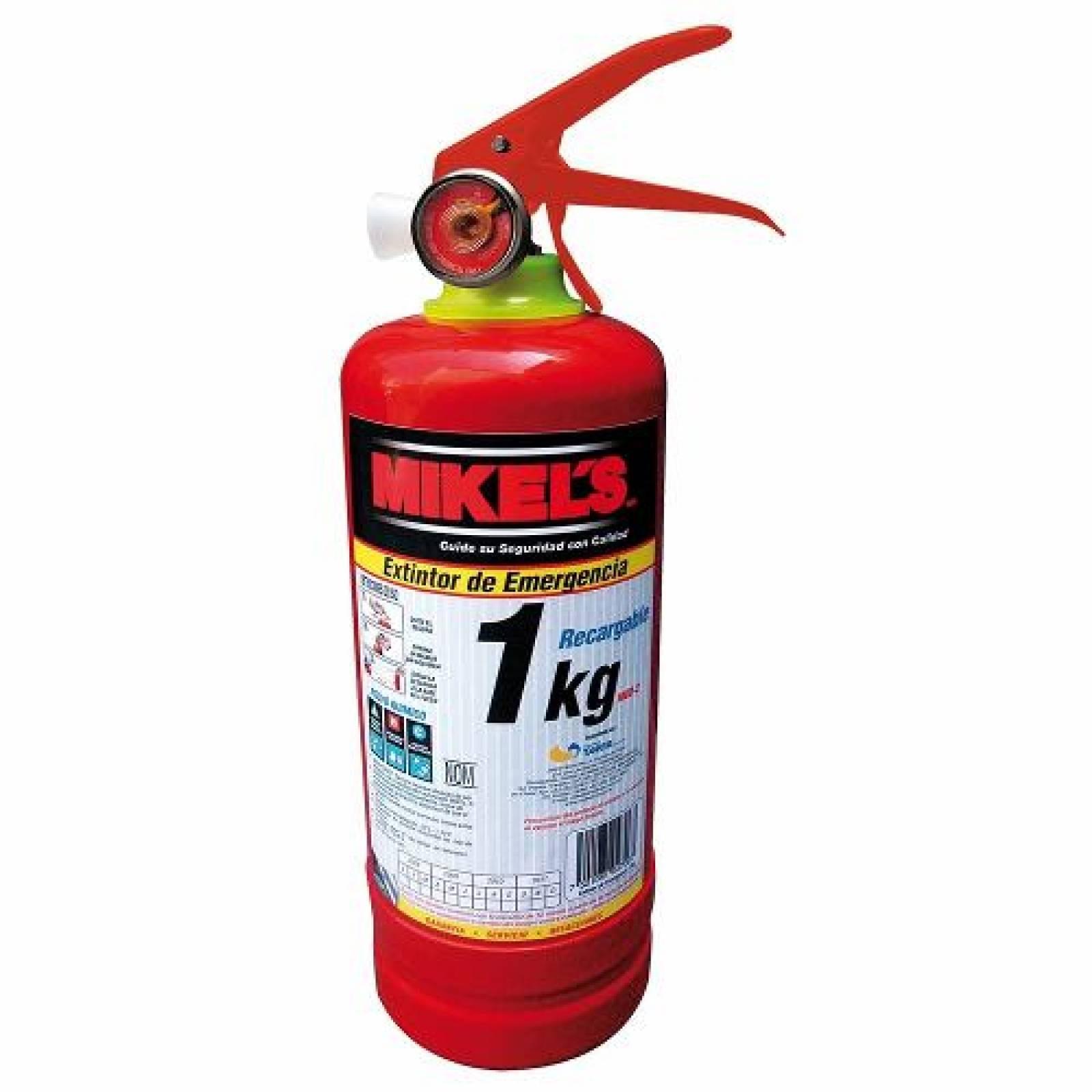 Extintor De Emergencia 1 Kgs Mikels