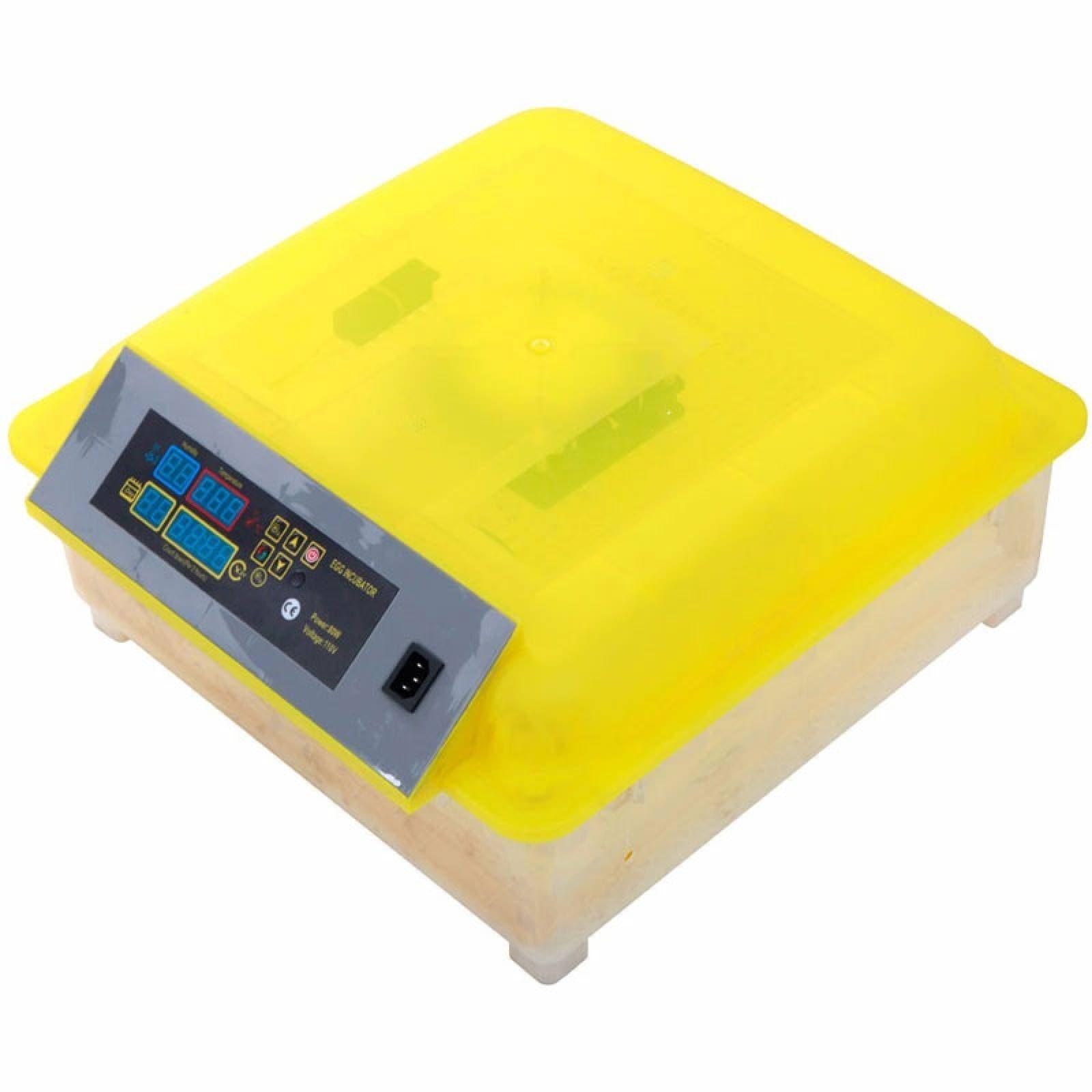 Incubadora Volteador Automatico Pollos 56 Huevos Eclosión