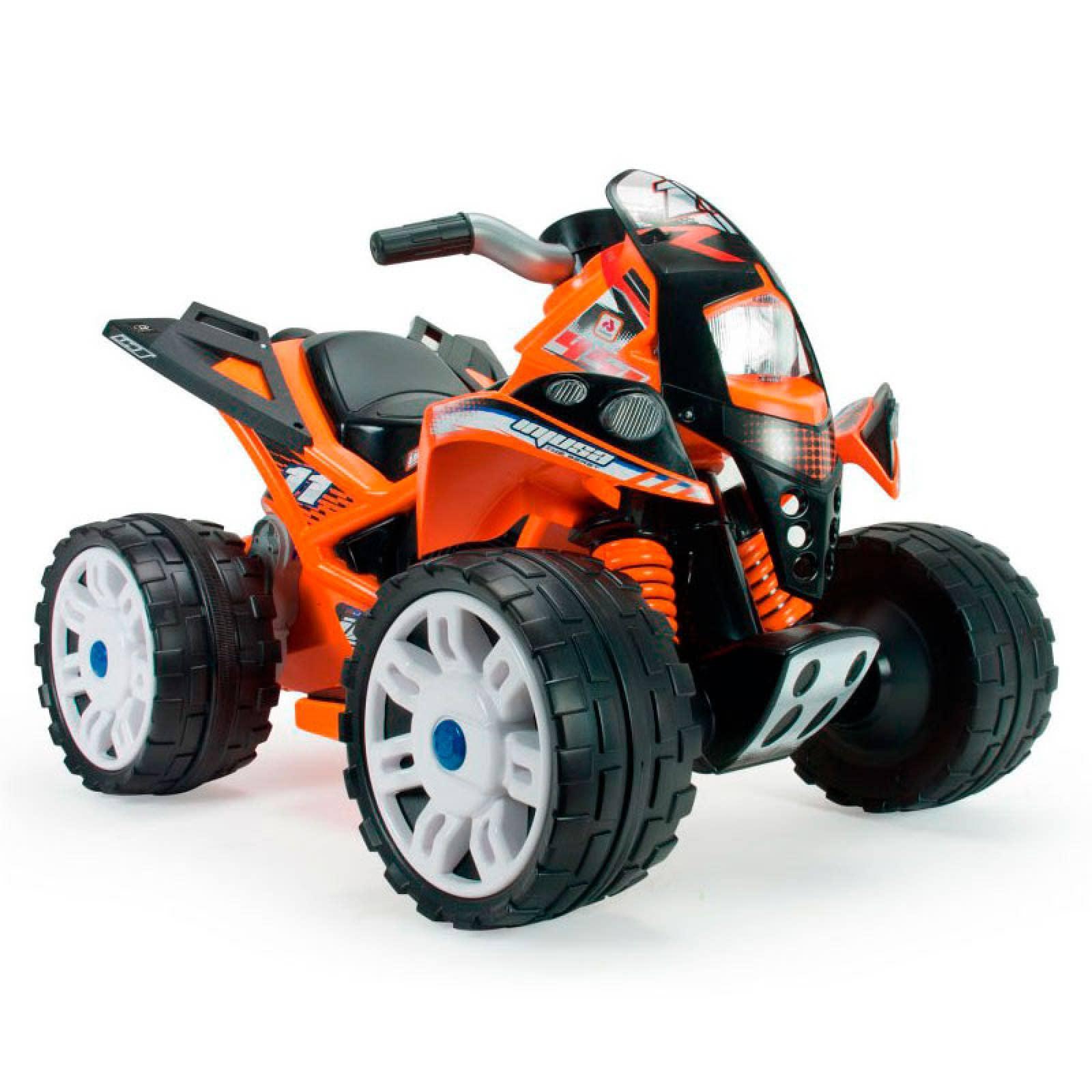 Moto Quad The Beast 6V Juguete Niños Injusa