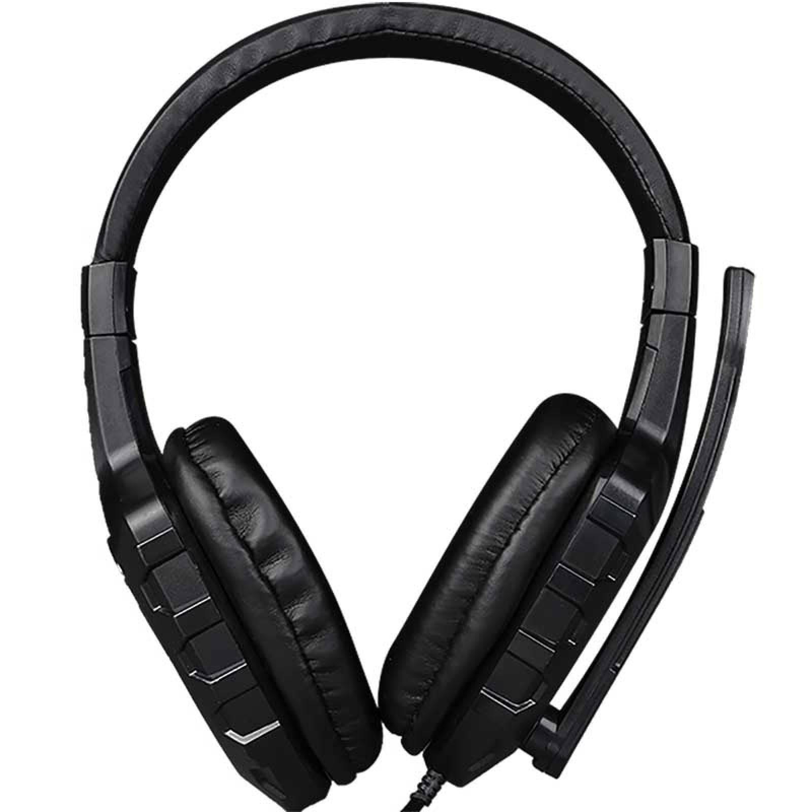 Audifonos Gamer HP-302 Diadema Gaming Pc Doble Jack estandar Xtrikeme 105 dB 20 Hz