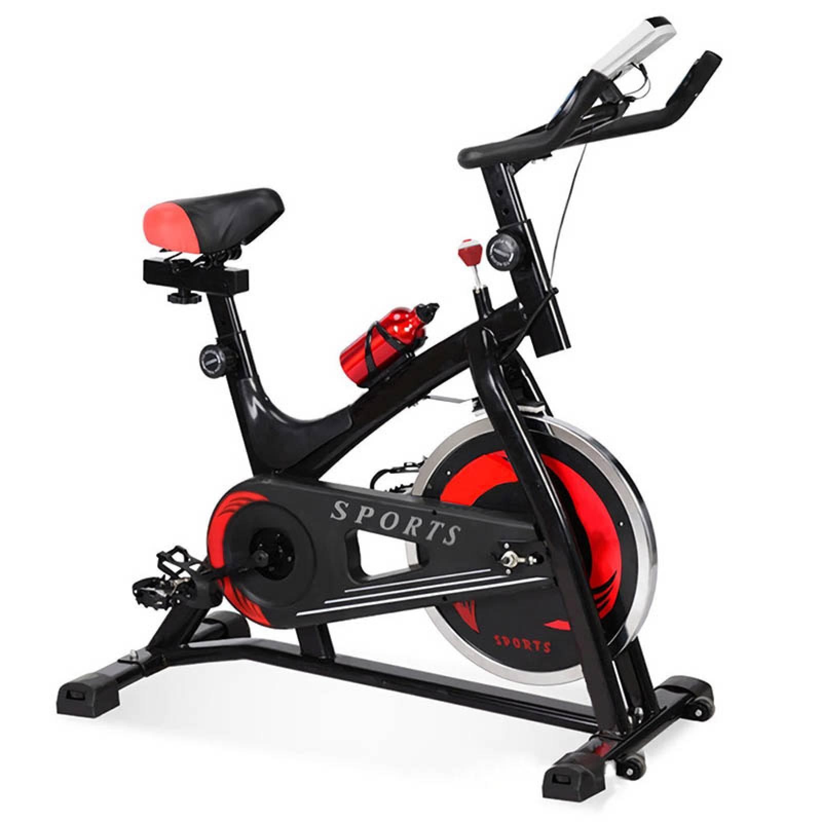 Bicicleta Spinning Fija Centurfit 6kg Botella Ejercicio Gym