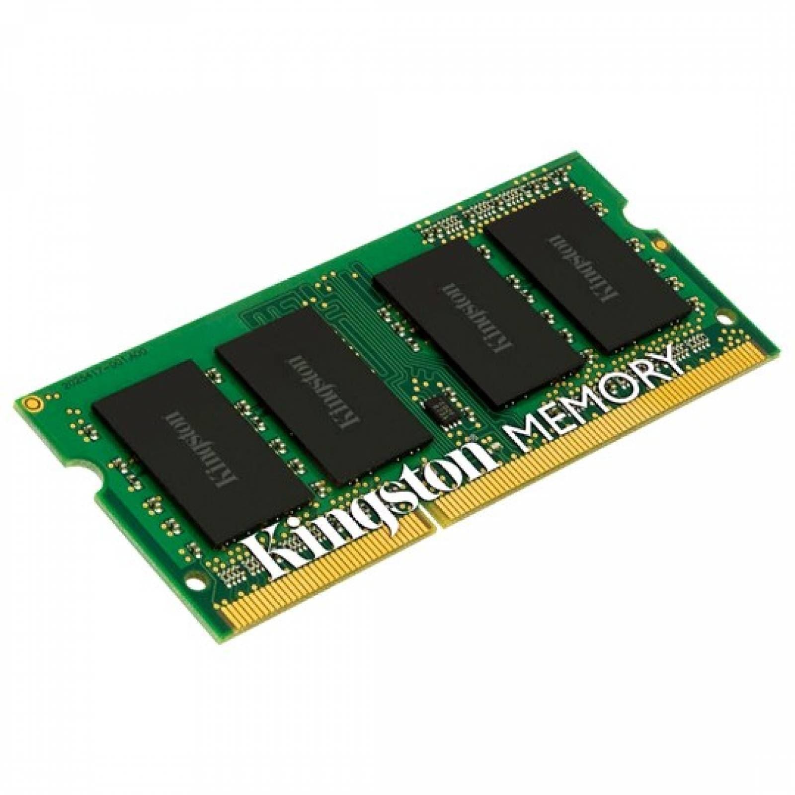 MEMORIA RAM TIPO GENERICA KINGSTON DE 8 GB EMBALAJE SODIMM TECNOLOGIA DDR3L VELOCIDAD DE 1600 MHZ