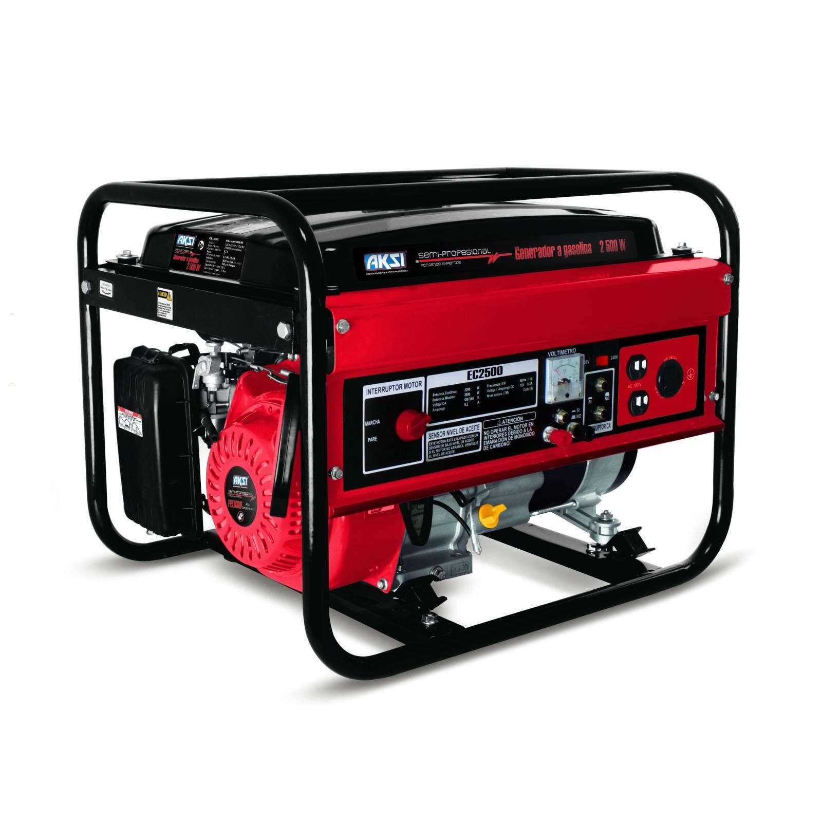 Generador Aksi Gasolina 2500w - Semi Pro