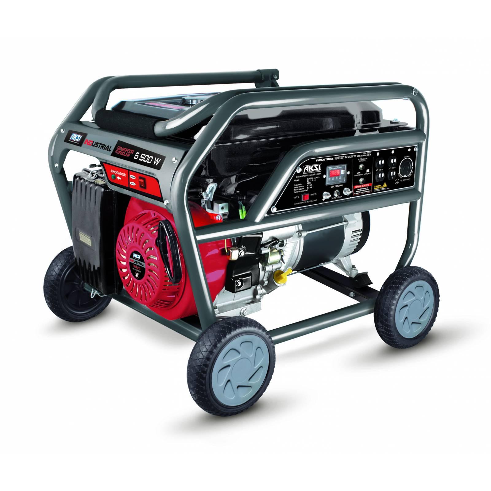 Generador Aksi Gasolina 6500w Industrial