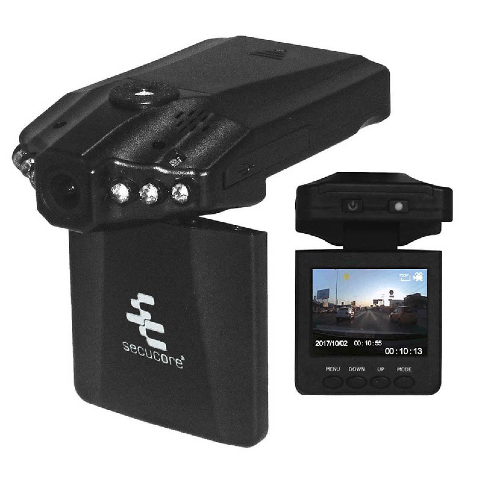 Mini Grabador Dvr Para Vehiculos Con Camara Pantalla Bateria
