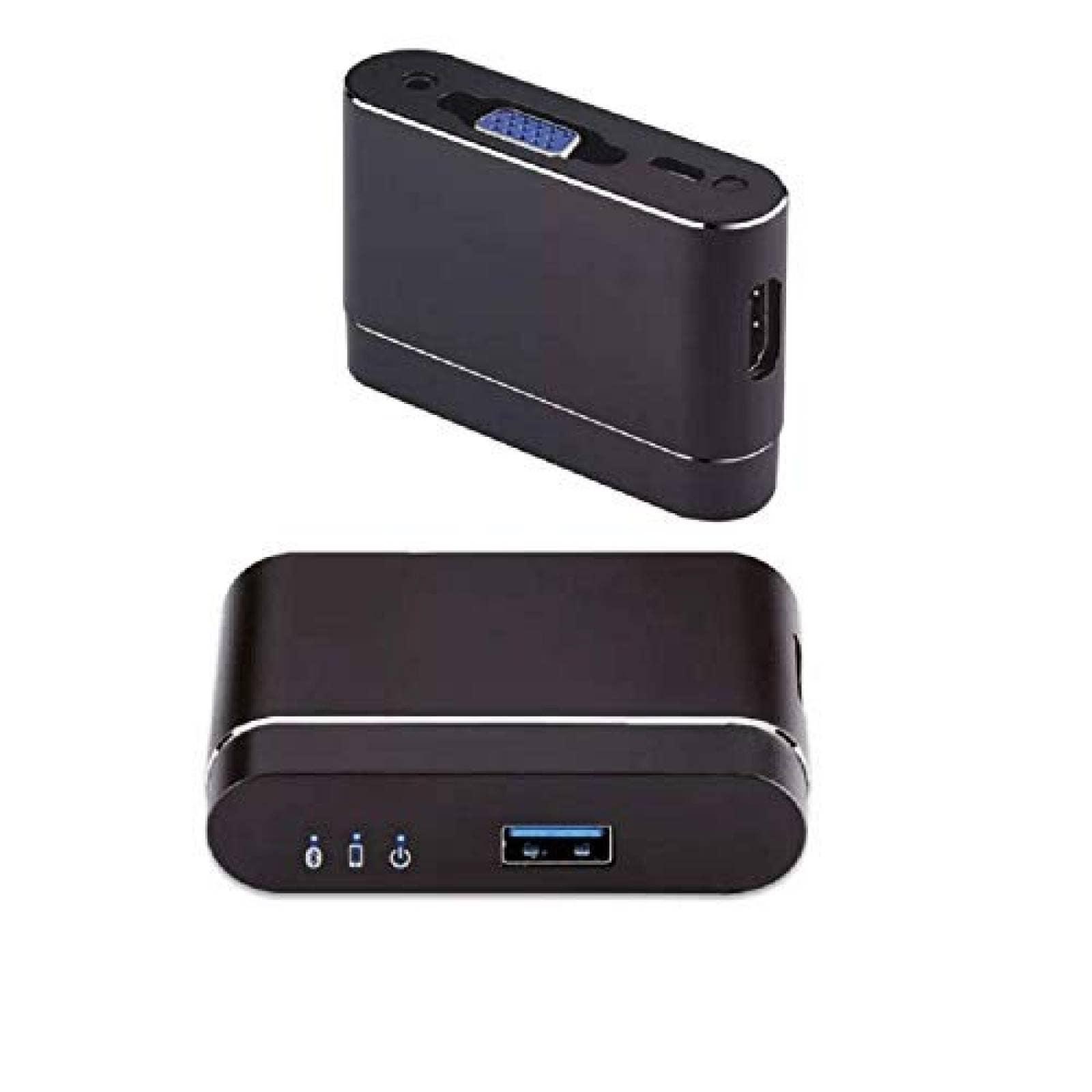Adaptador USB AooYu a VGA y HDMI TV proyector iOS Android