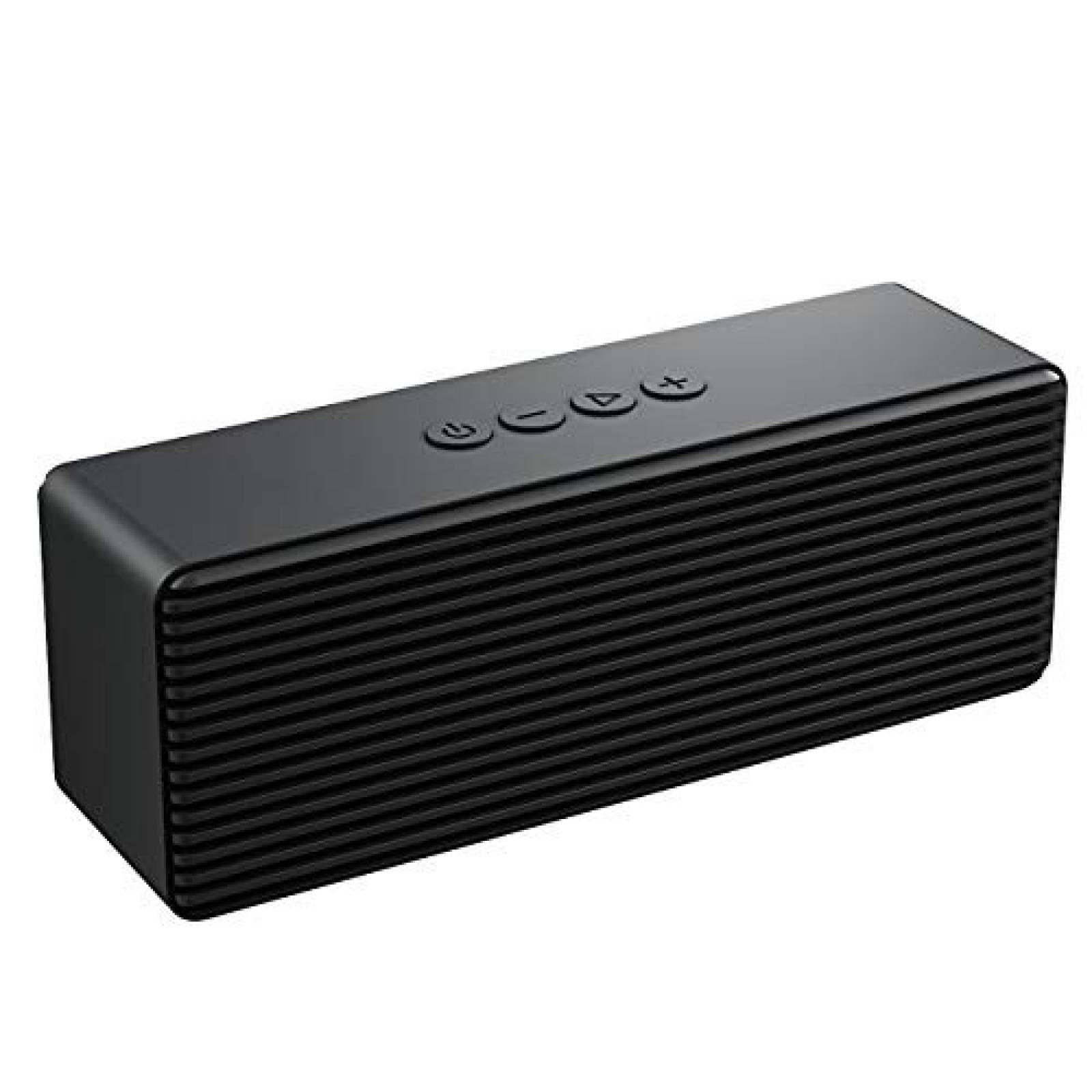 Bocina Bluetooth portátil LENRUE V4.2 -negro