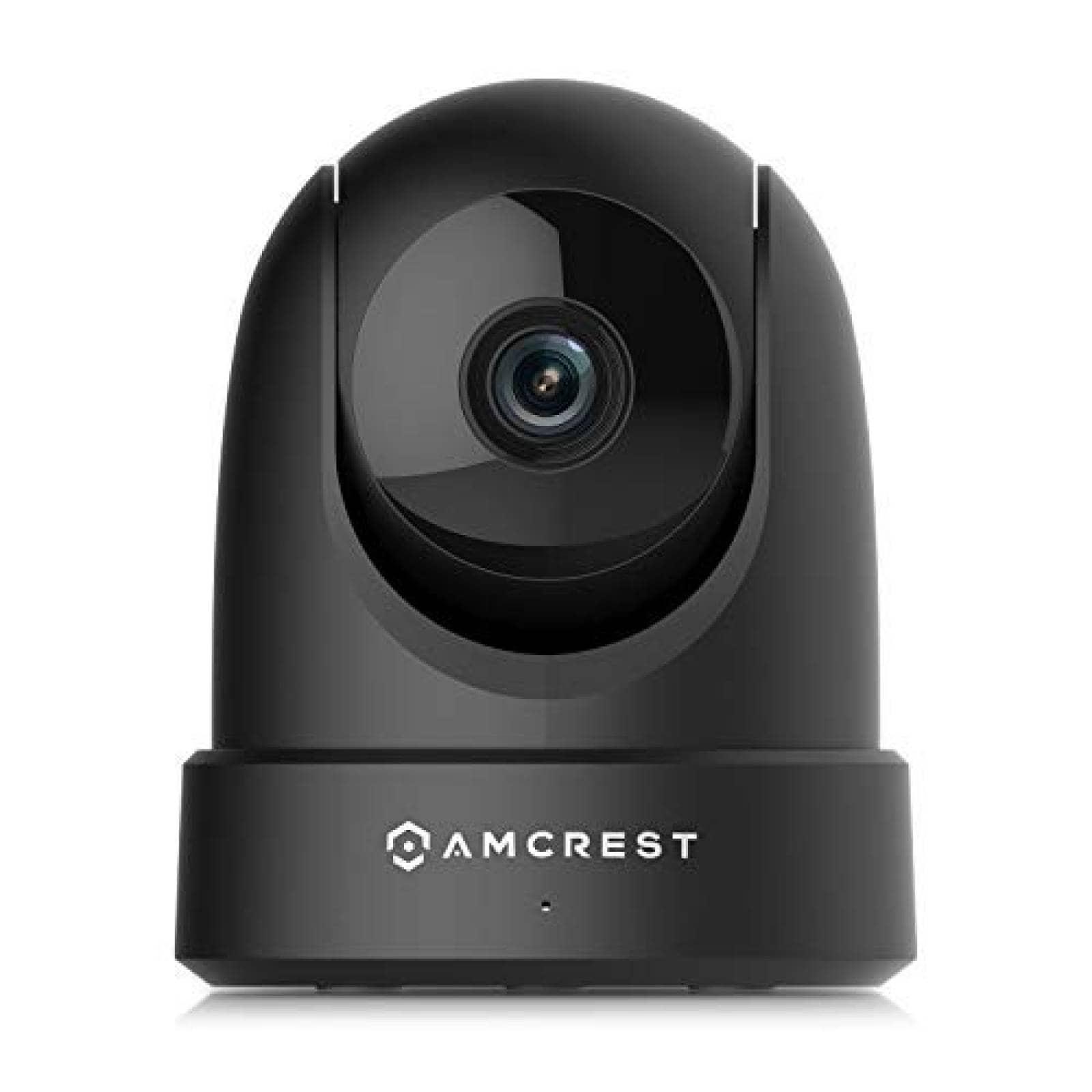 Cámara de vigilancia Amcrest 4MP WiFi para interior -Negro