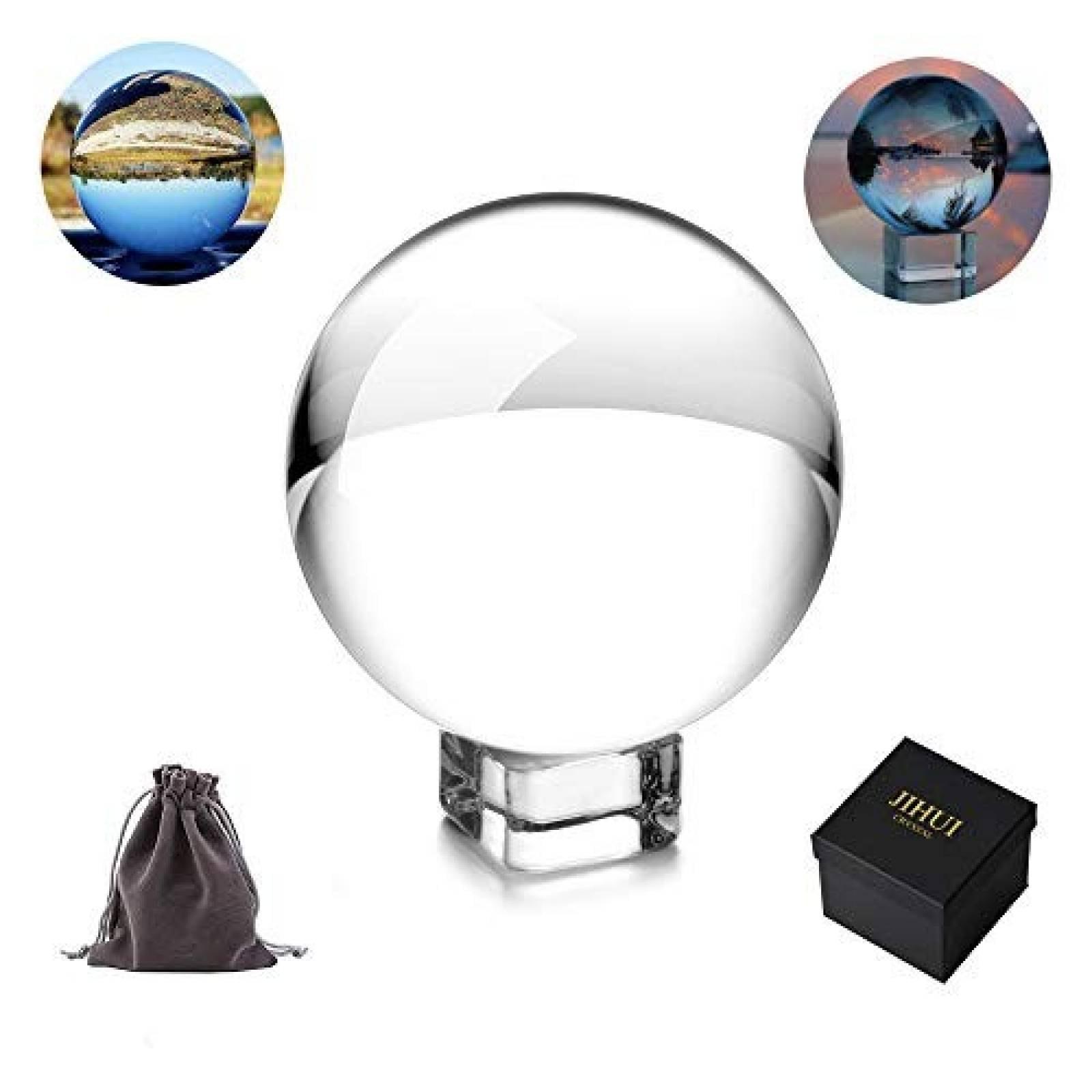 Esfera de cristal JIHUI 2.36 pulgadas -Transparente