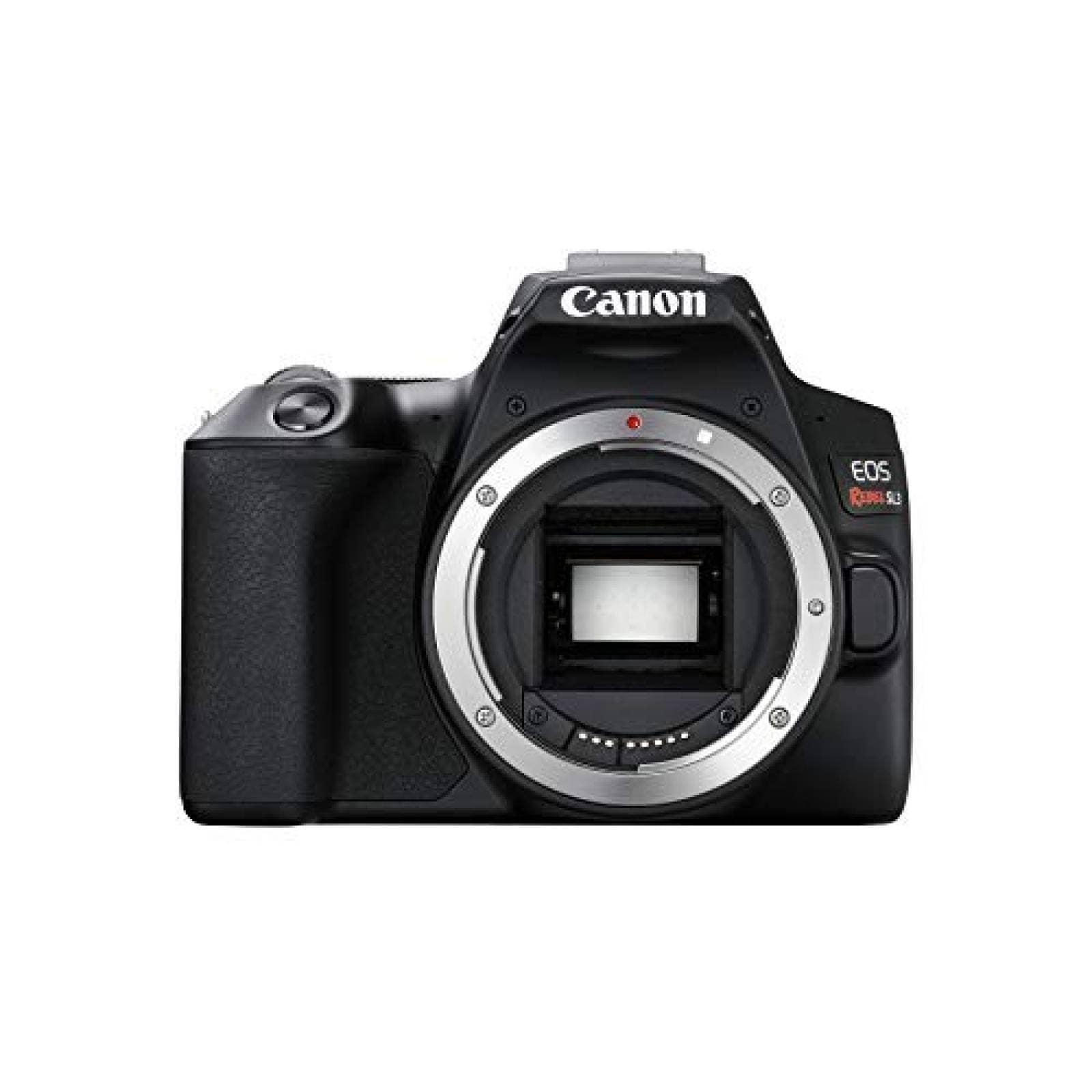 Cámara DSLR Canon EOS REBEL SL3 SOLO CUERPO -Negro