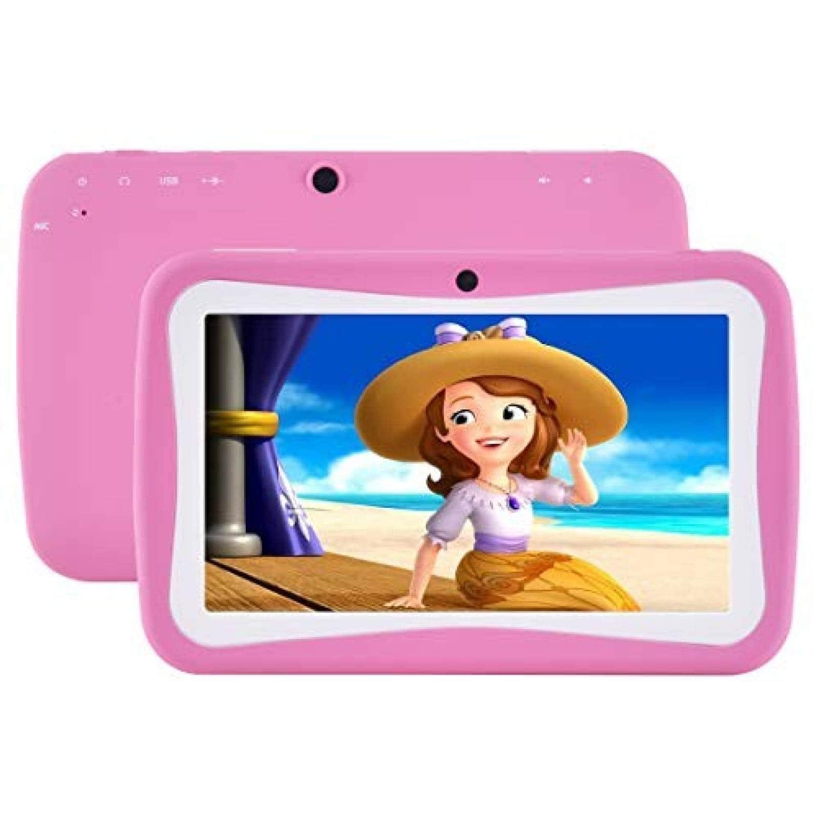 "Tablet BENEVE para niños, pantalla 7 "" 1GB+ 8GB iWawa -Rosa"