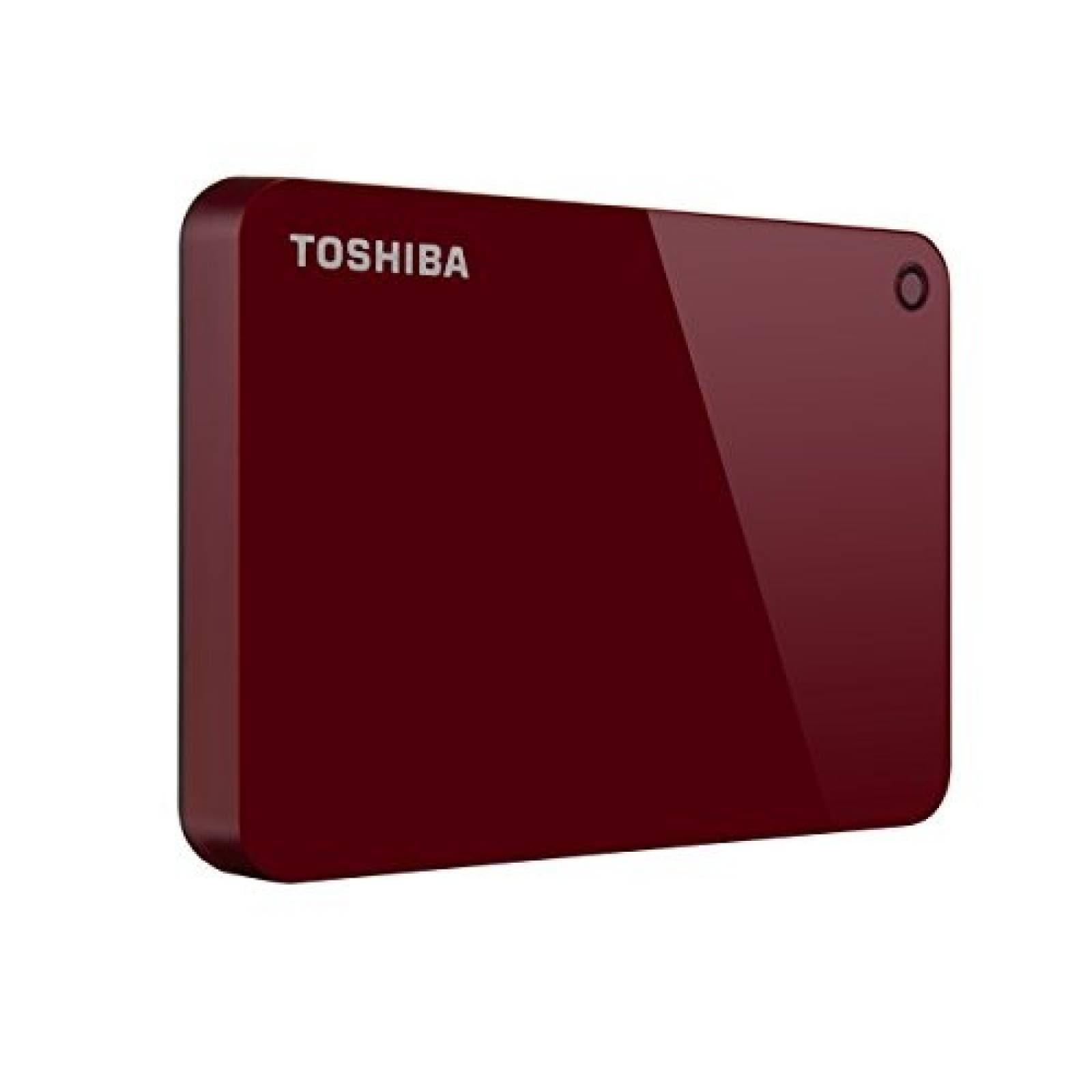 Disco duro externo Toshiba Canvio Advance 1TB USB 3.0 -Rojo