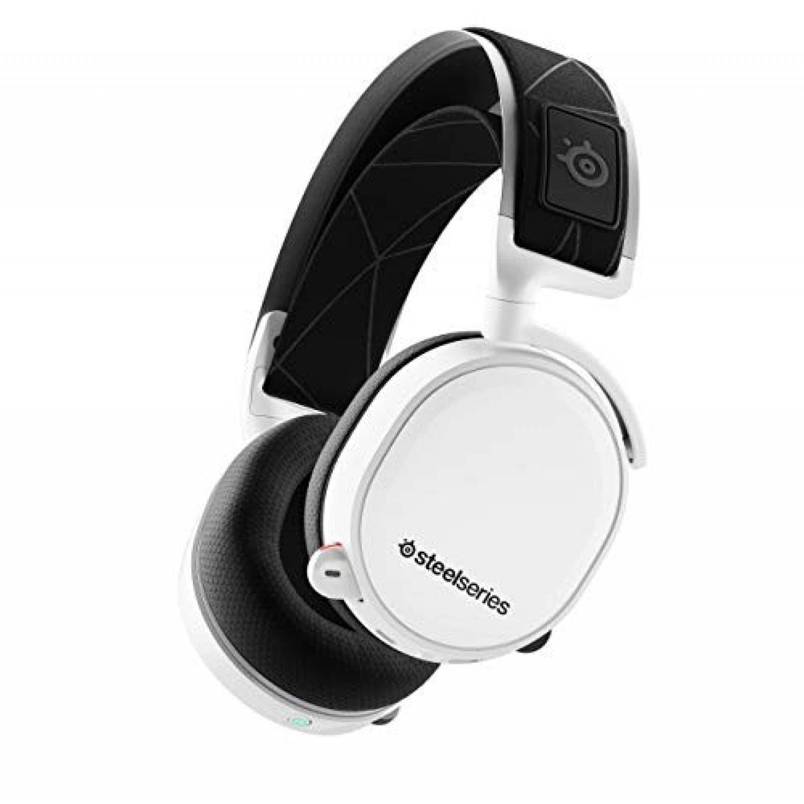 Audífonos inalámbricos Gamer SteelSeries Arctis 7 -Blanco
