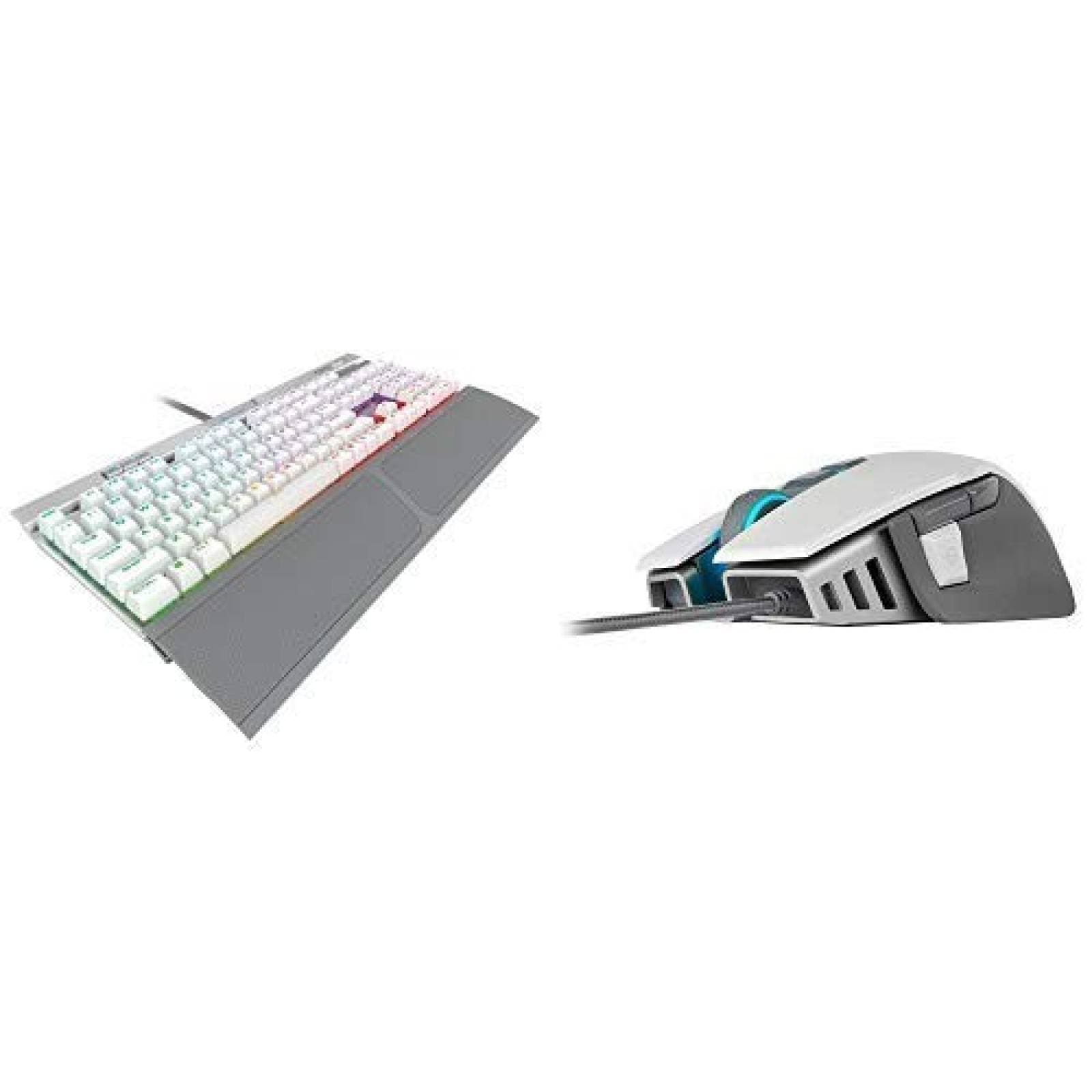 Kit Corsair K70 RGB Teclado Mecanico y Mouse M65 ELITE