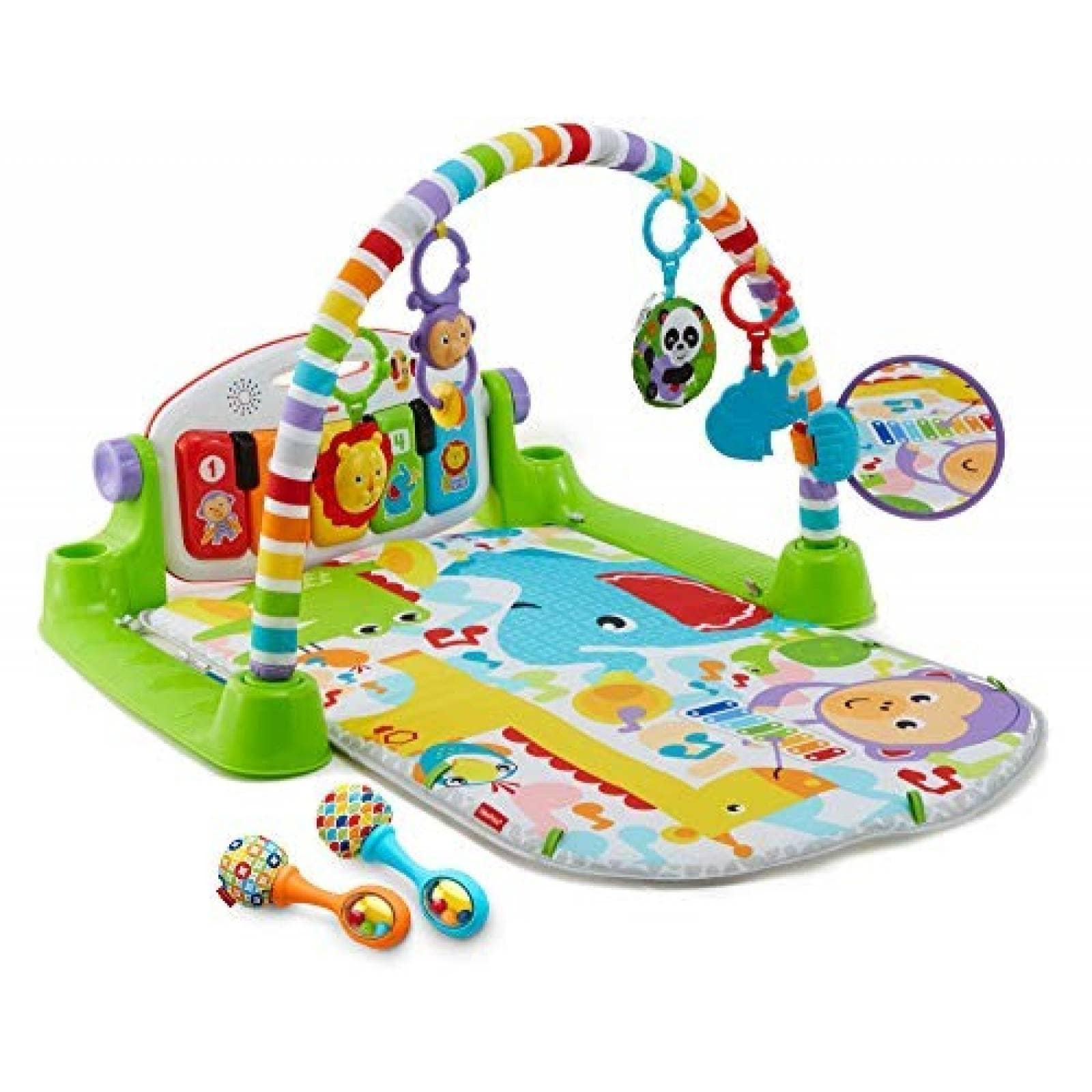 Juguetes Para Bebes De 20 Meses.Juguete De Piano Fisher Price Para Bebes Verde