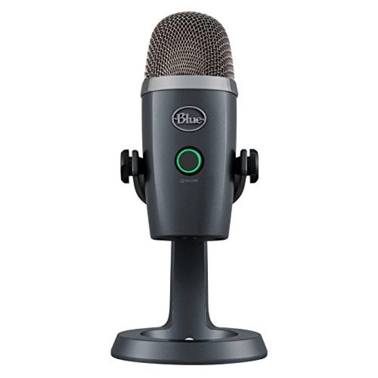 Micrófono Blue Yeti Nano Premium USB Streaming -Gris
