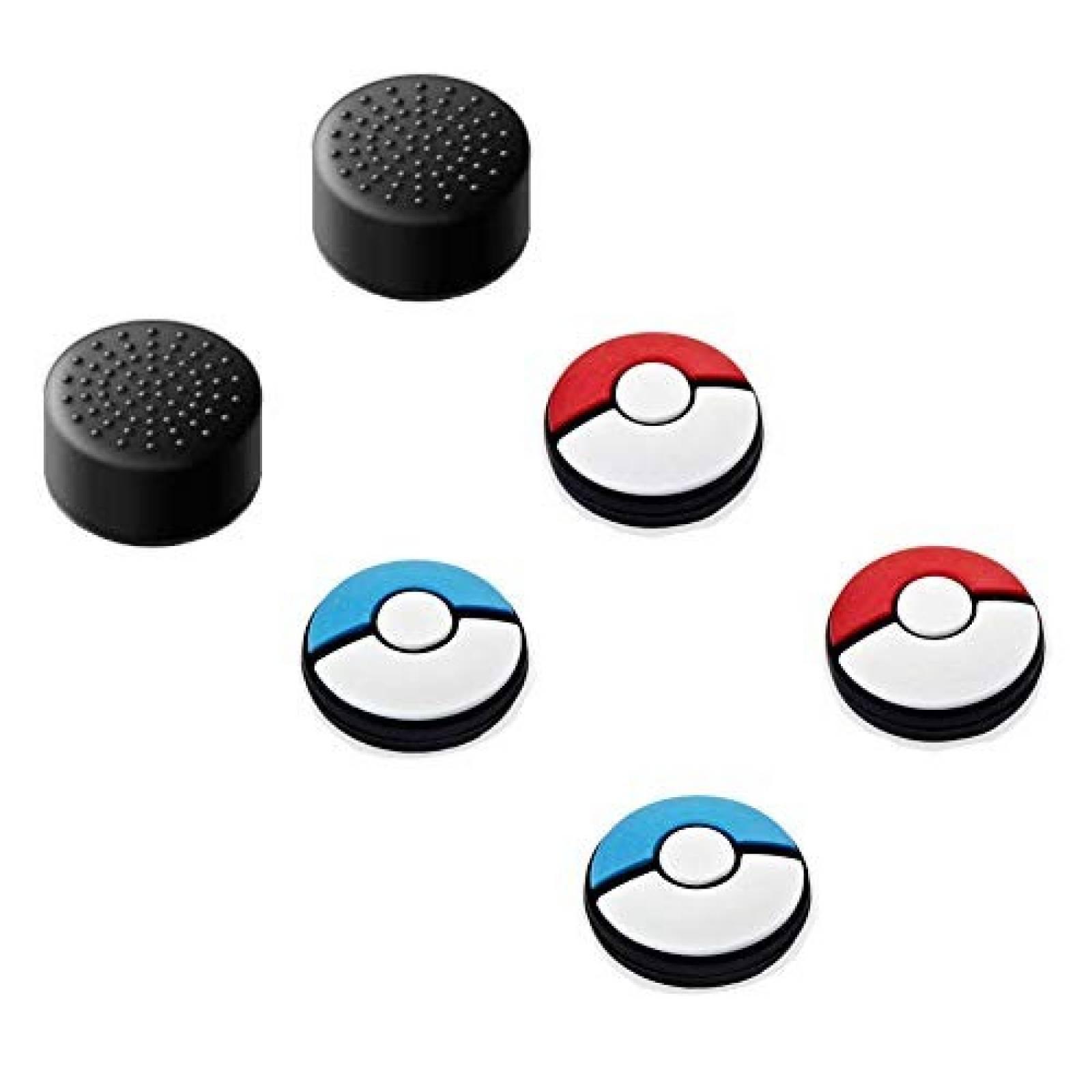 Funda para joystick JAMONT Nintendo Switch 6 pack -Pokemon