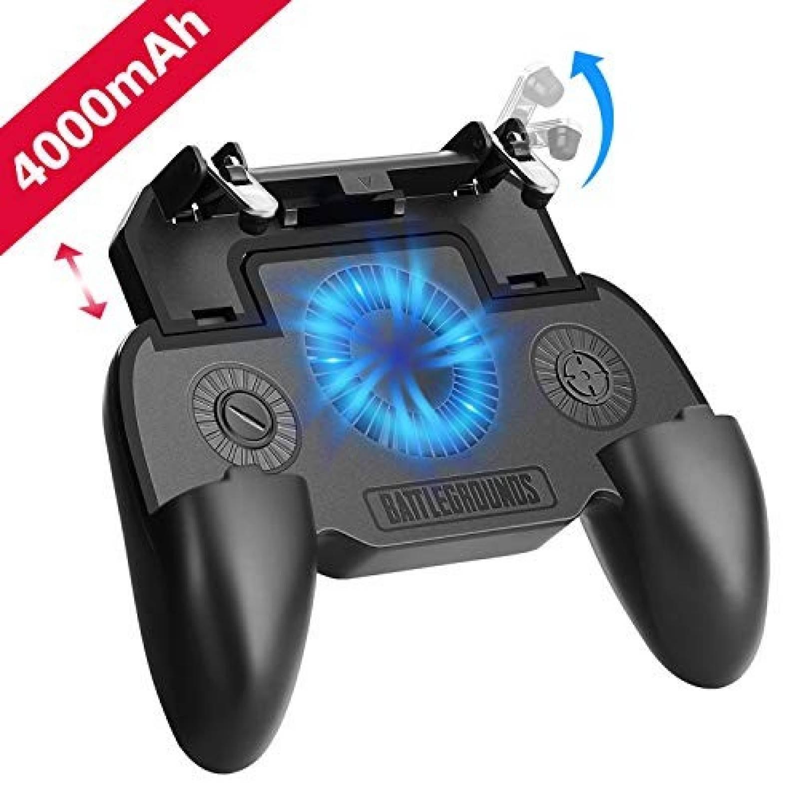 Control Gamer DELAM para smartphone bateria 4000mAh -Negro