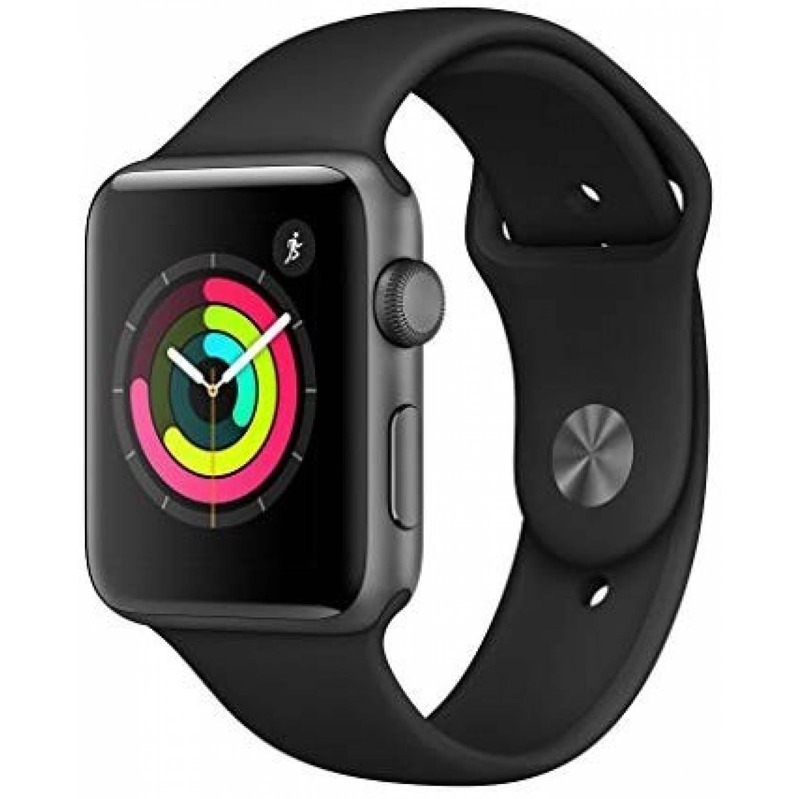 Smartwatch Apple Series 3 42mm GPS Correa Deportiva -Negro